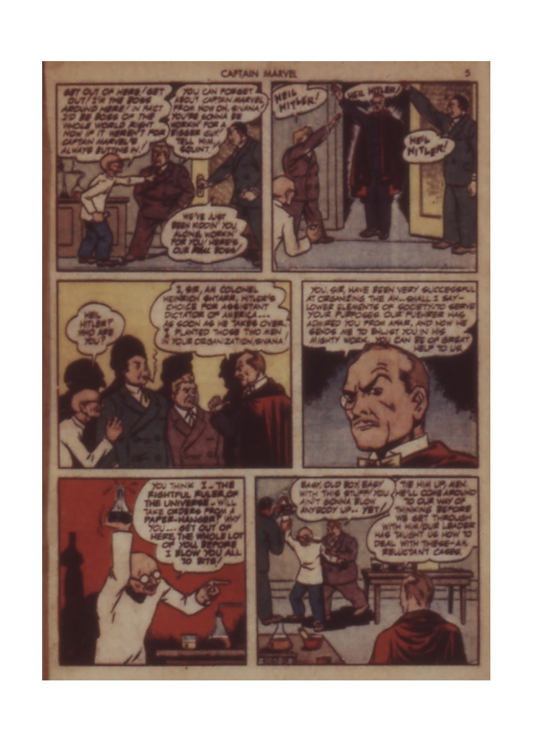 Captain Marvel Adventures issue 11 - Page 5