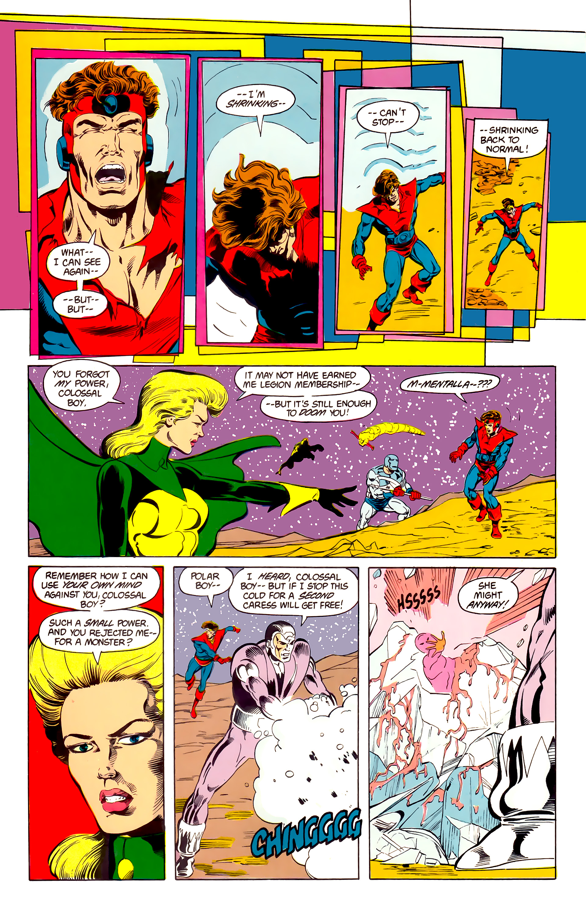 Legion of Super-Heroes (1984) 25 Page 27