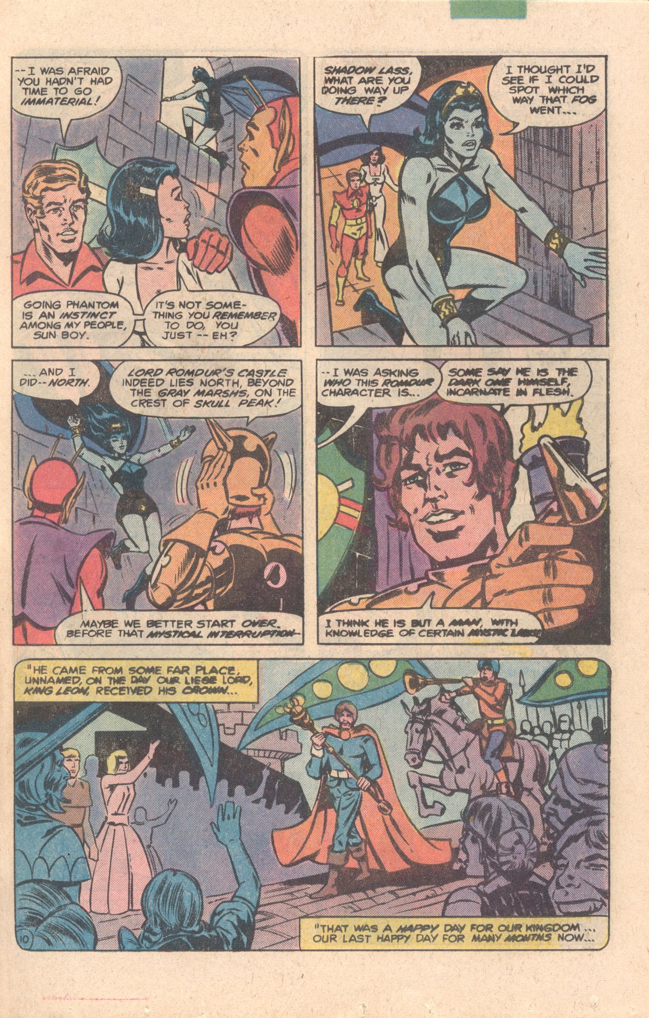 Legion of Super-Heroes (1980) 276 Page 10
