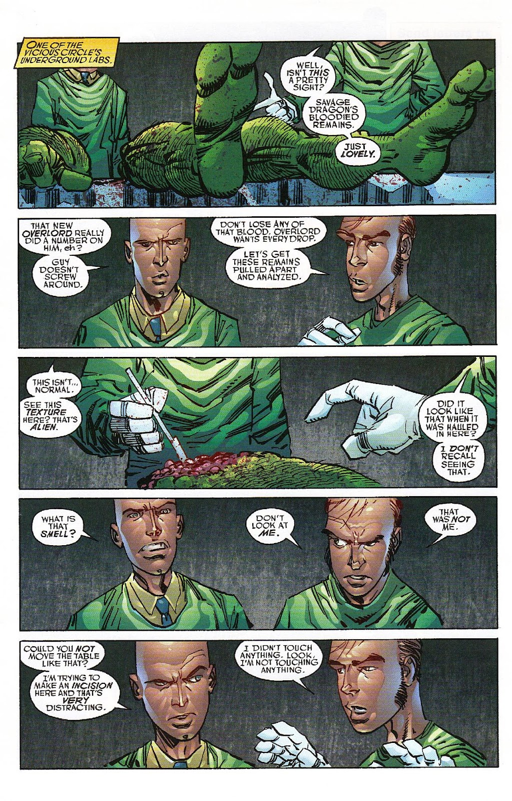The Savage Dragon (1993) Issue #151 #154 - English 21