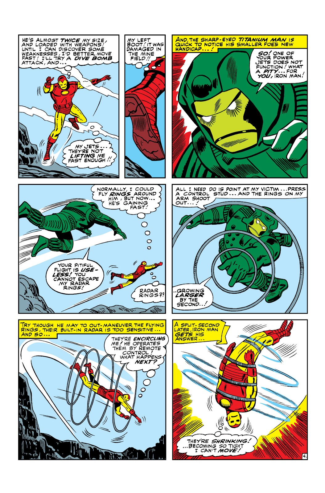Read online Marvel Masterworks: The Invincible Iron Man comic -  Issue # TPB 3 (Part 1) - 99