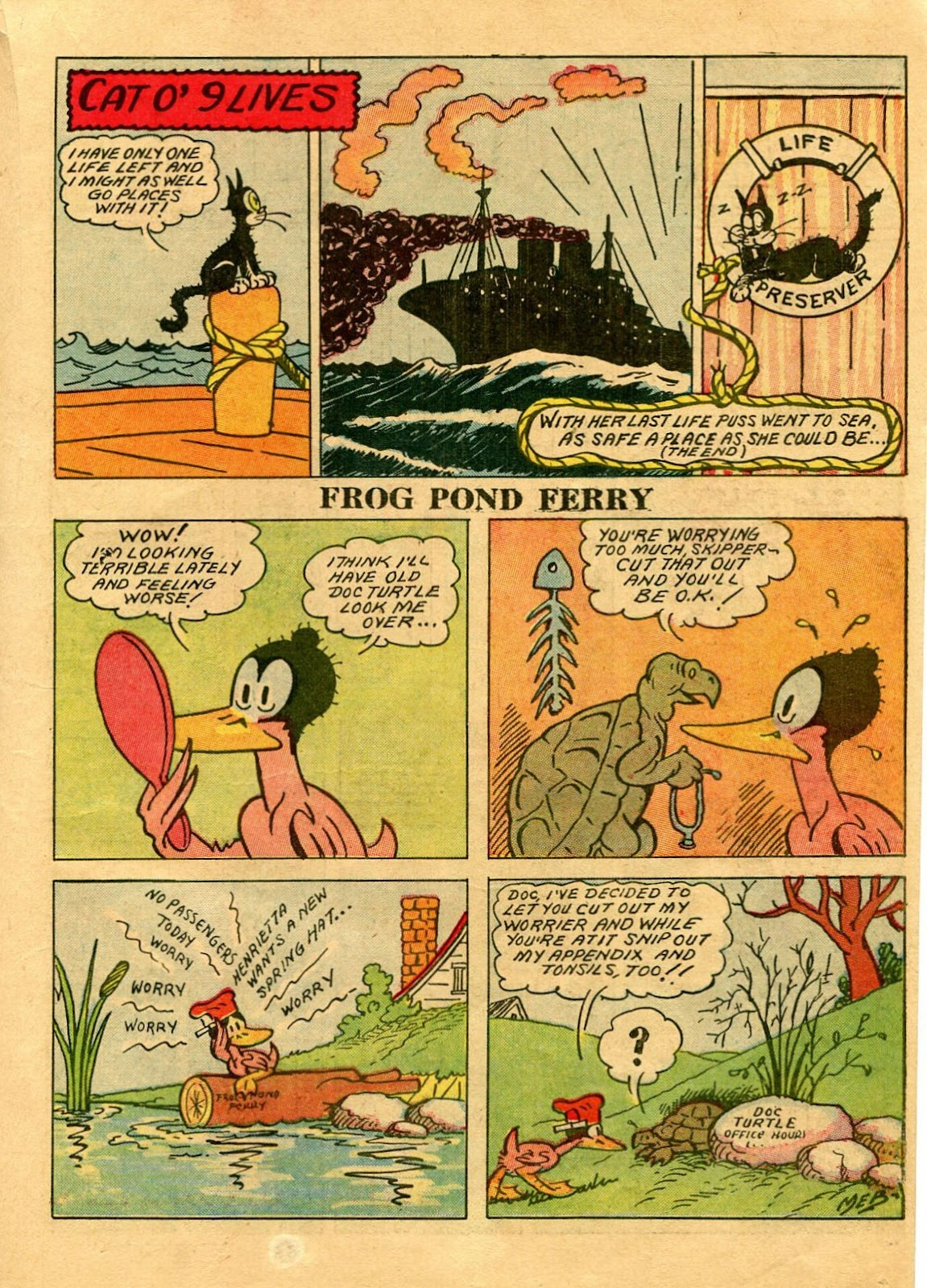 Read online Famous Funnies comic -  Issue #56 - 37