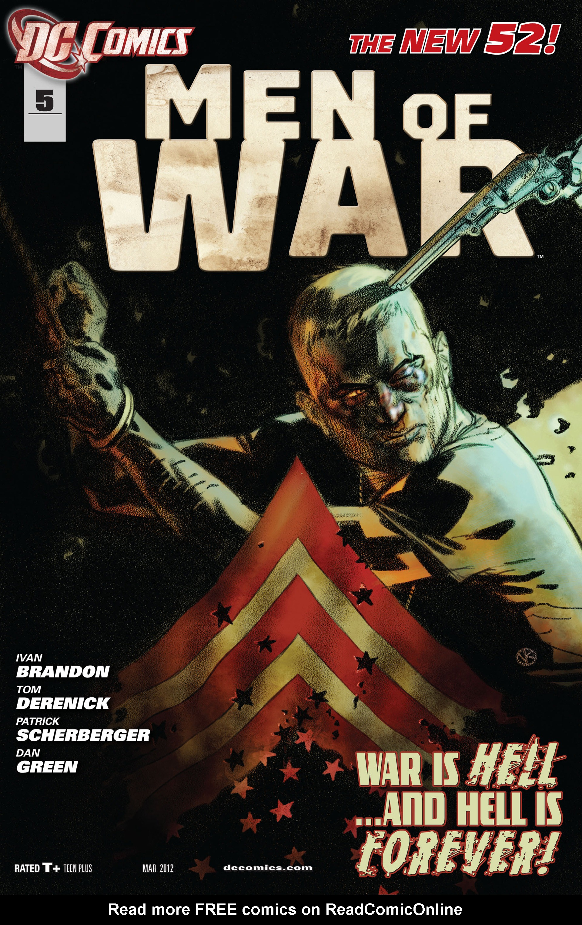 Men of War (2011) issue 5 - Page 1