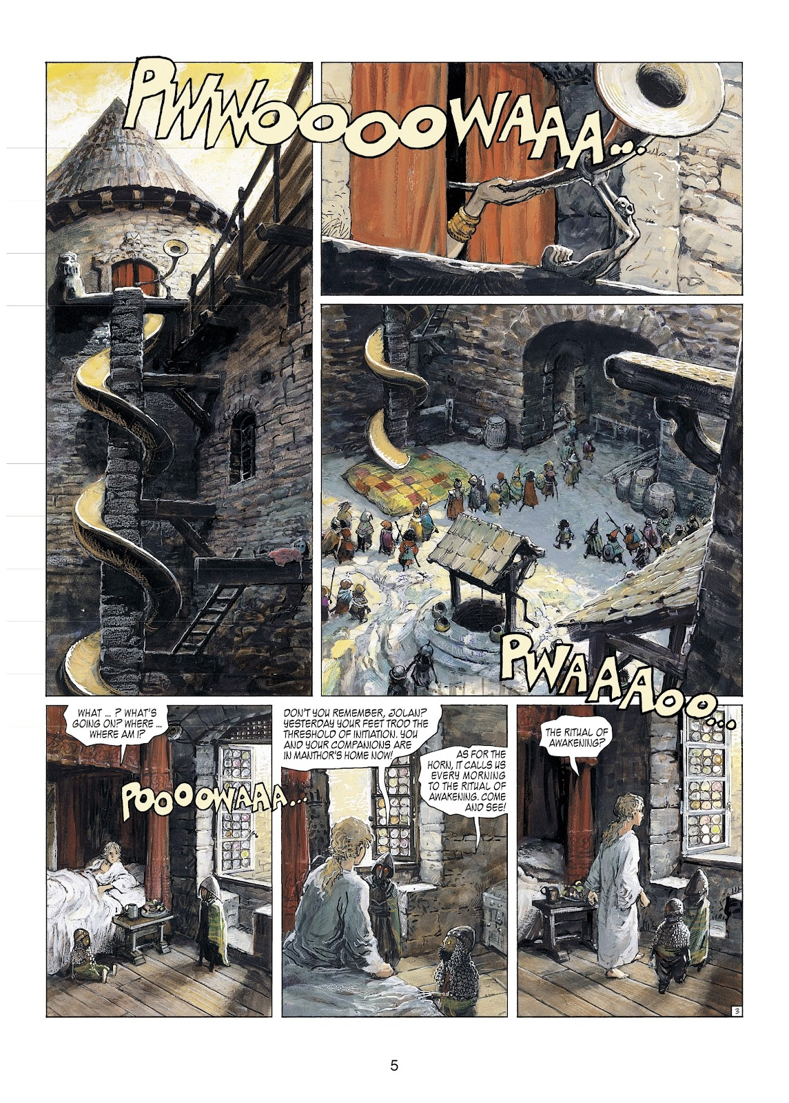 Read online Thorgal comic -  Issue #23 - 7