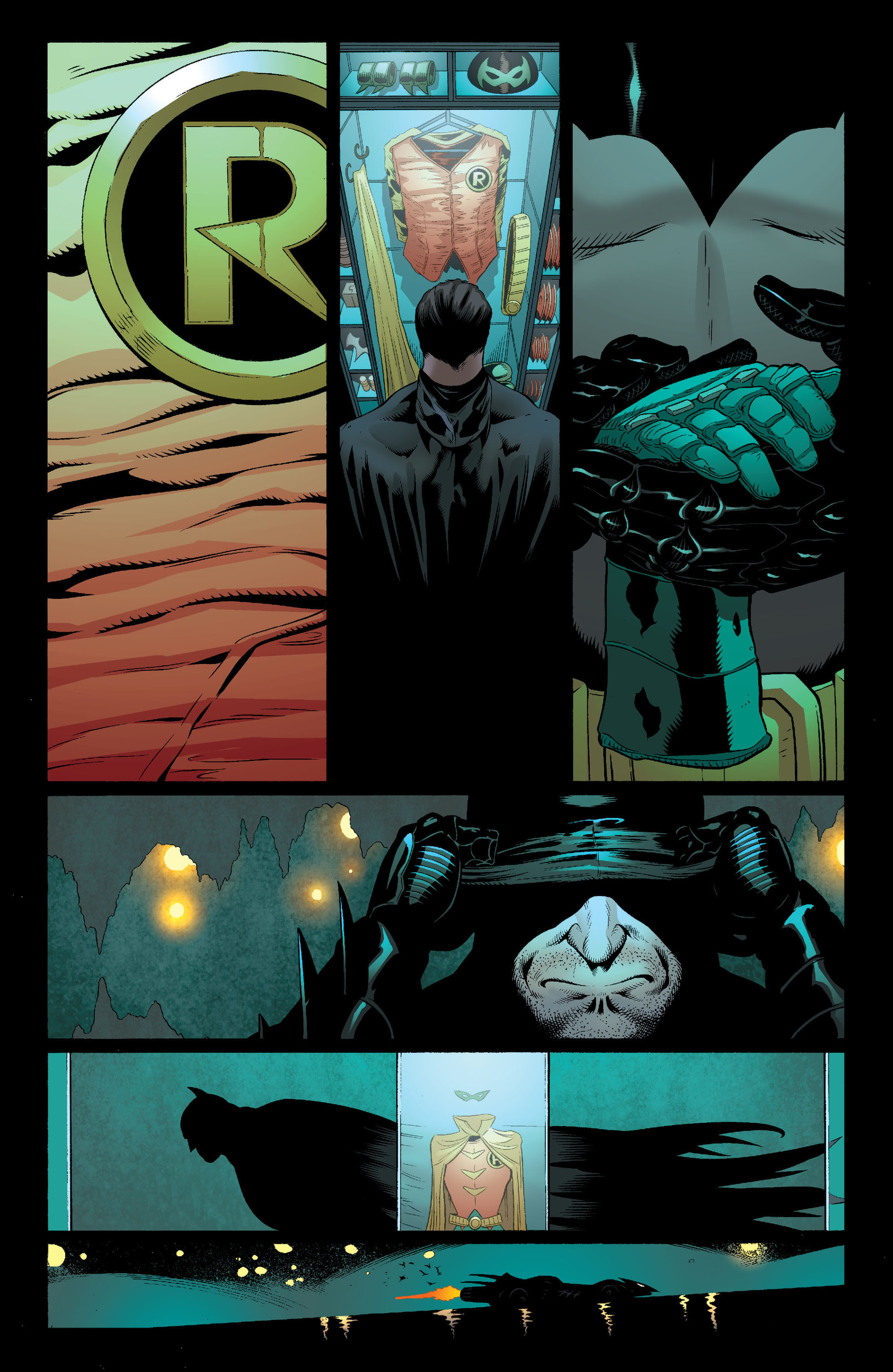Read online Batman and Robin (2011) comic -  Issue #18 - 8