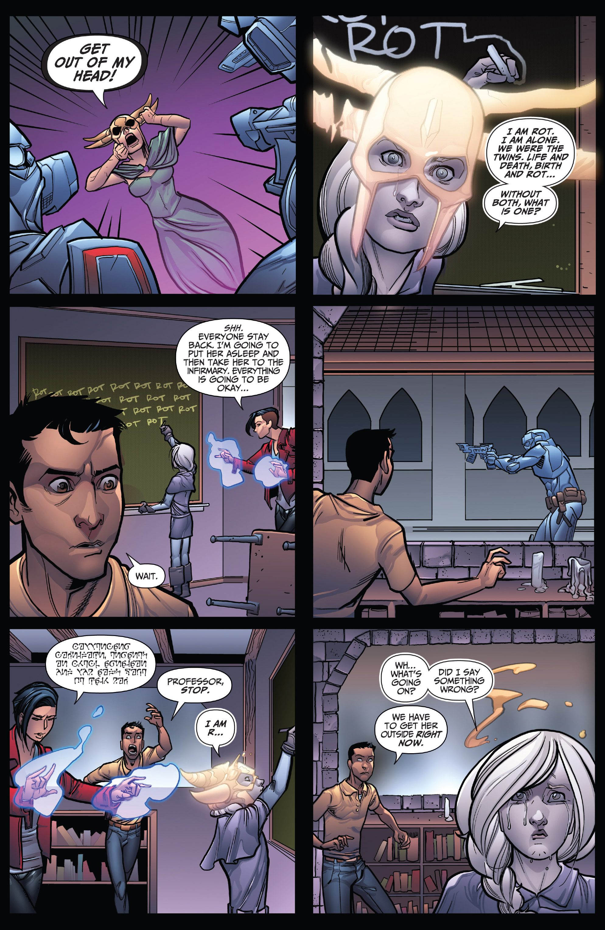 Read online Grimm Fairy Tales: Arcane Acre comic -  Issue # TPB 4 - 14