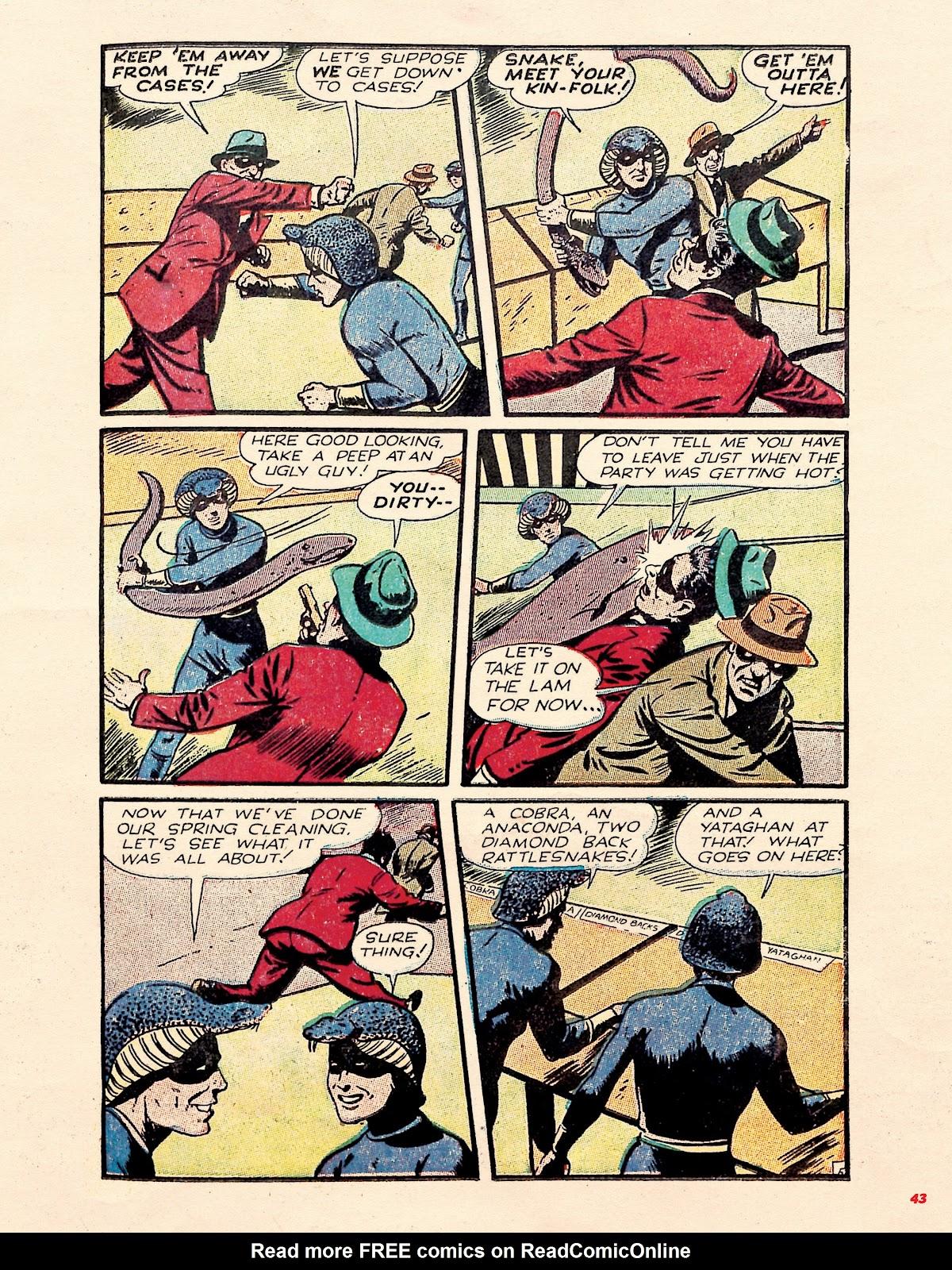 Read online Super Weird Heroes comic -  Issue # TPB 1 (Part 1) - 42