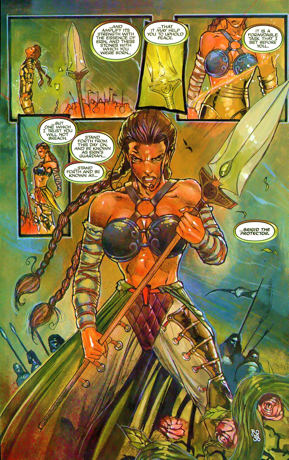 More Than Mortal: Sagas issue 3 - Page 26