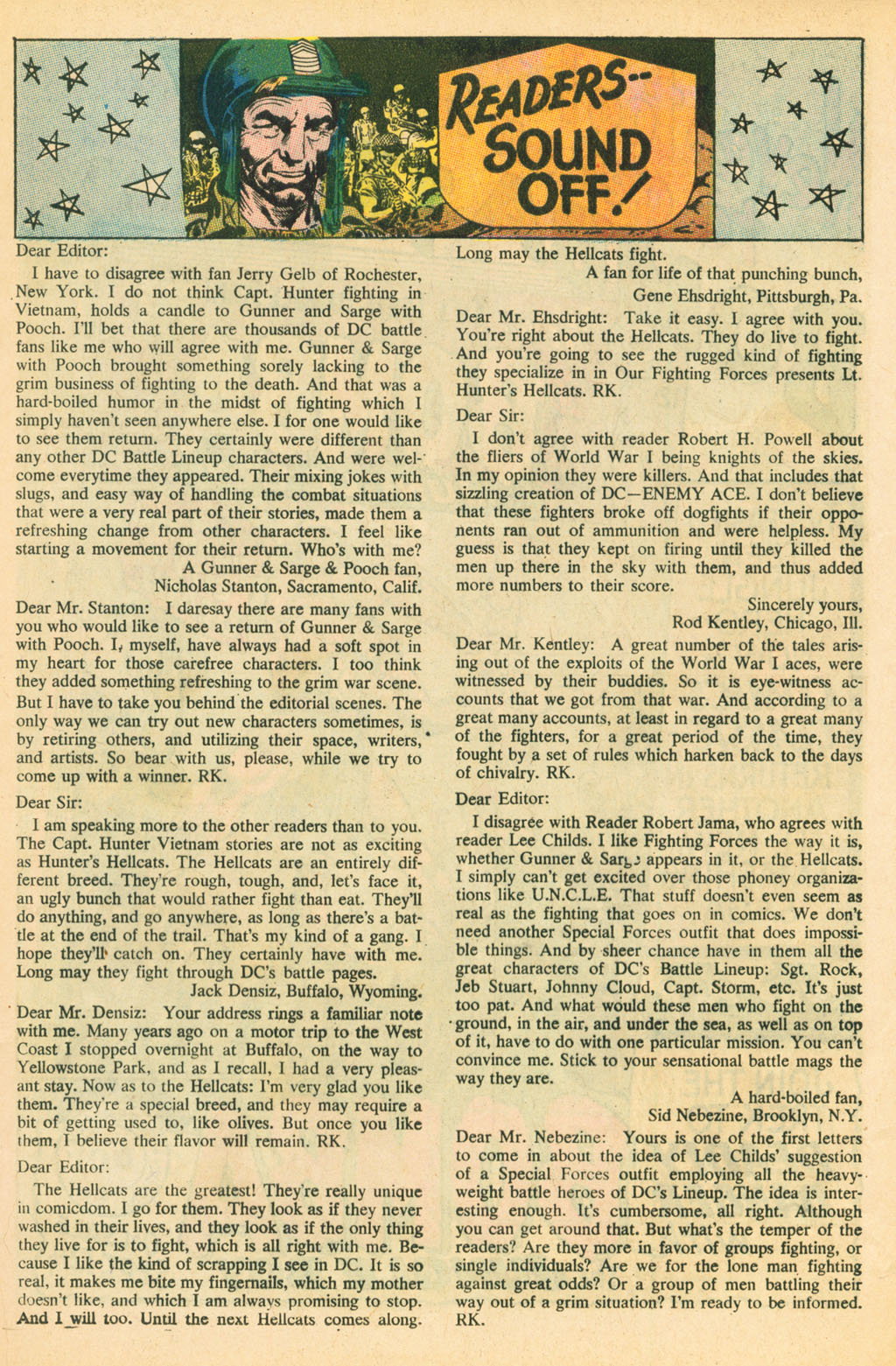 Our Fighting Forces (1954) issue 110 - Page 13