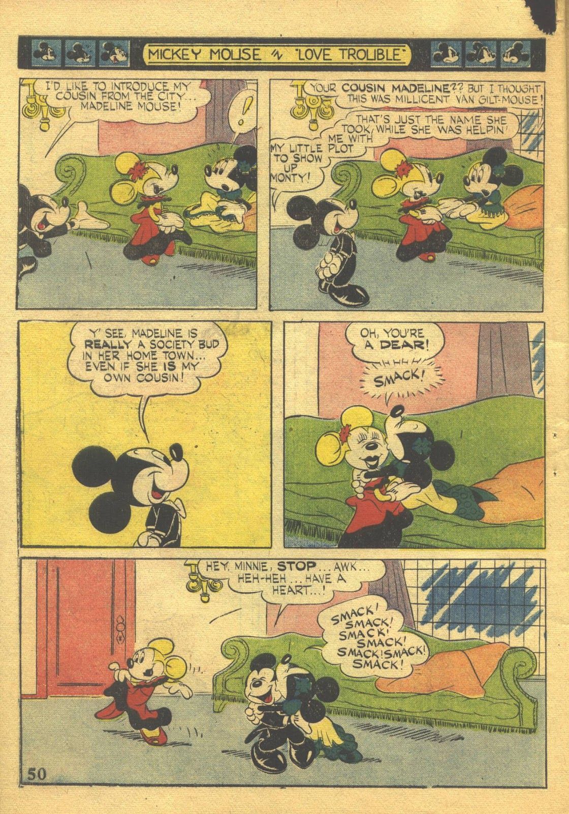 Walt Disney's Comics and Stories issue 39 - Page 52