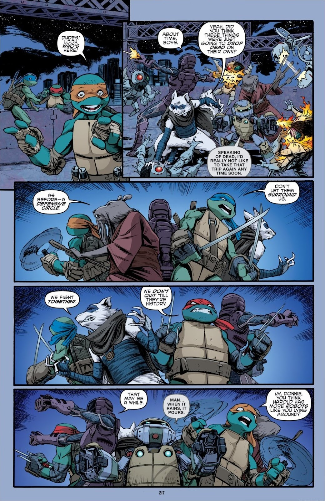 Read online Teenage Mutant Ninja Turtles: The IDW Collection comic -  Issue # TPB 6 (Part 3) - 12