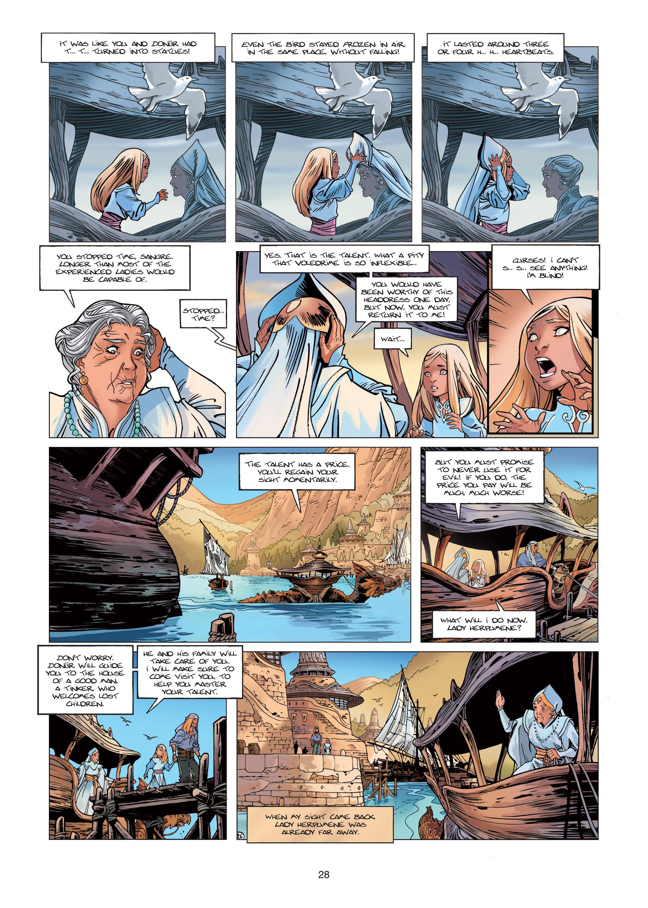 Read online Sangre Vol. 1: Sangre the Survivor comic -  Issue # Full - 28