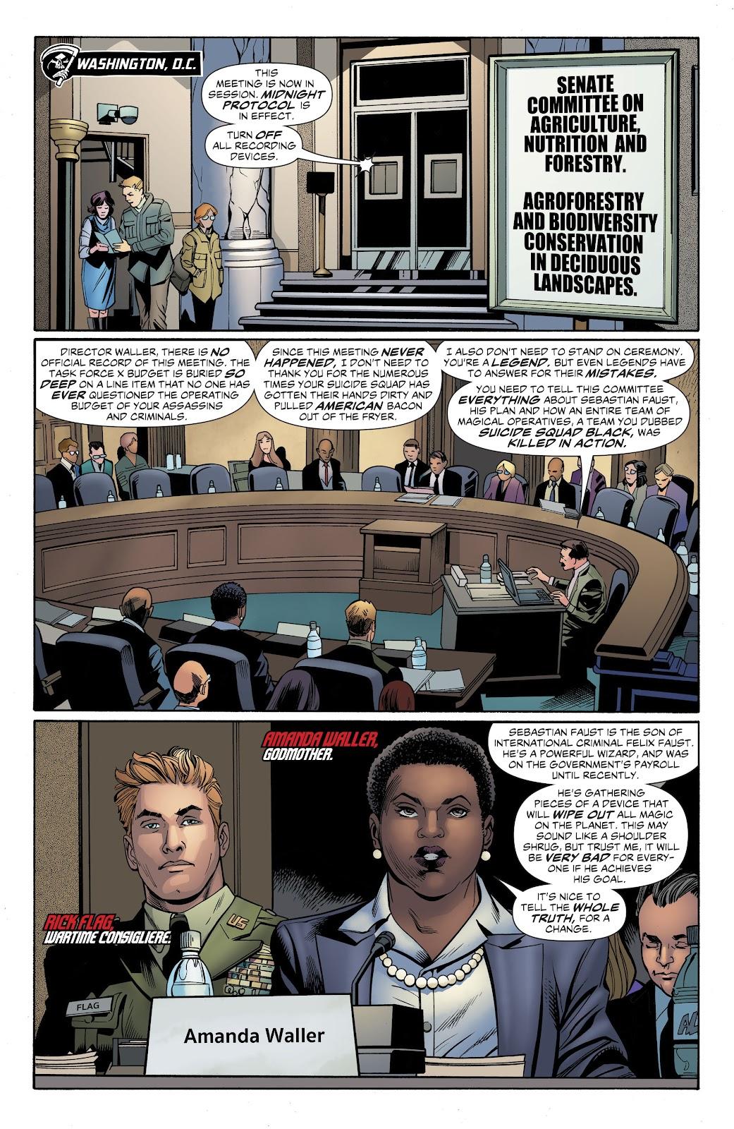 Read online Suicide Squad Black Files comic -  Issue #4 - 23