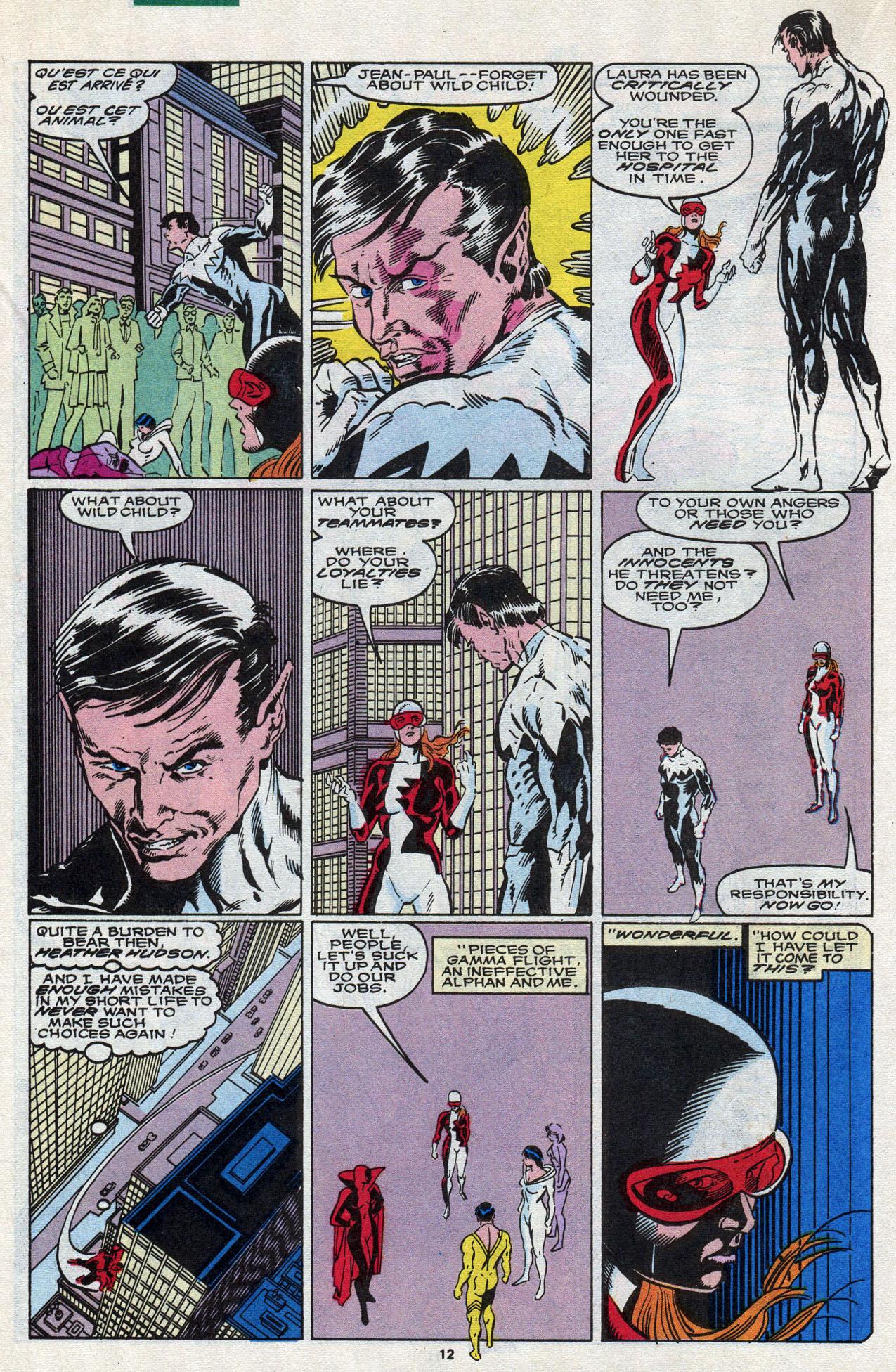 Read online Alpha Flight (1983) comic -  Issue #87 - 14