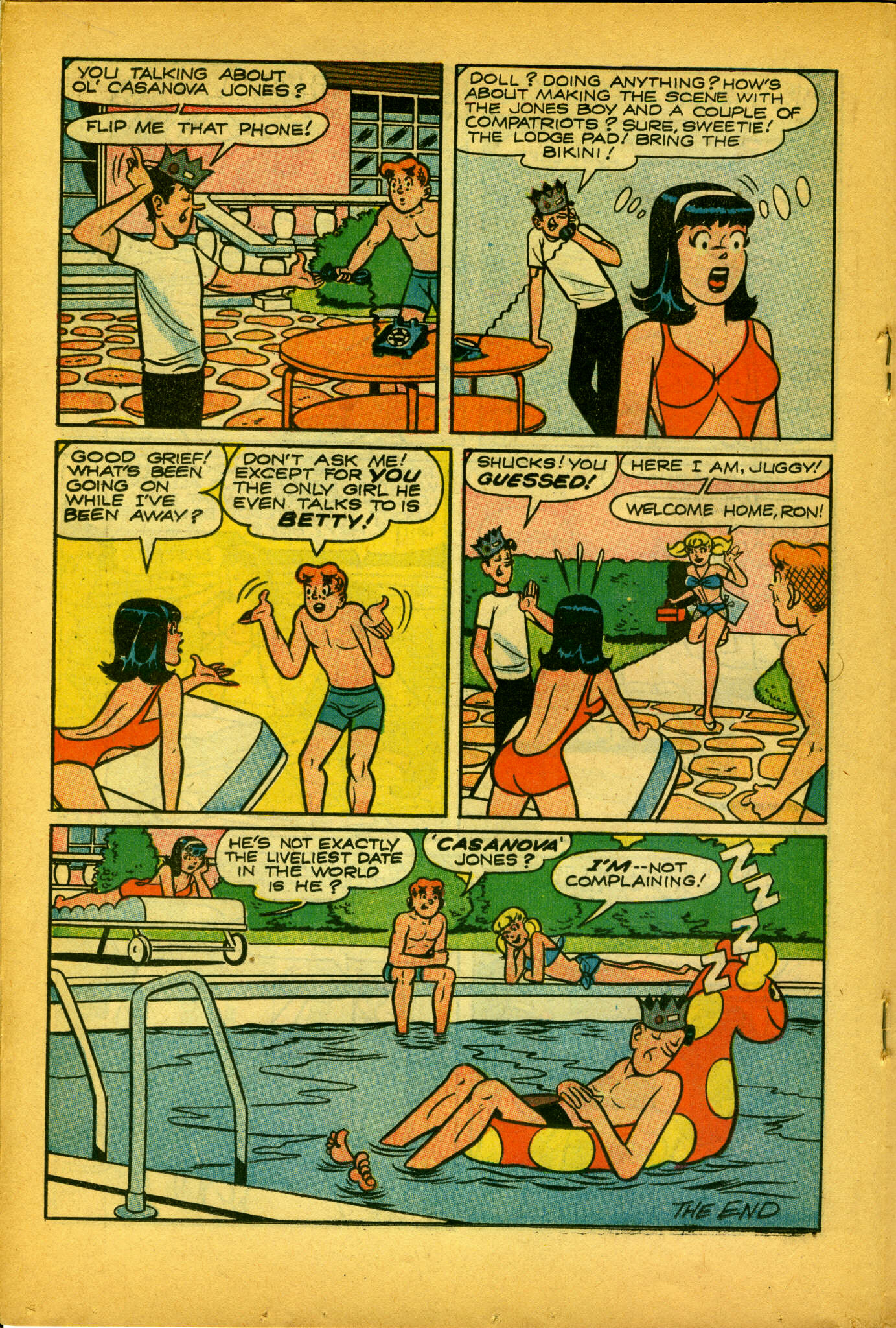 Read online Archie (1960) comic -  Issue #175 - 17