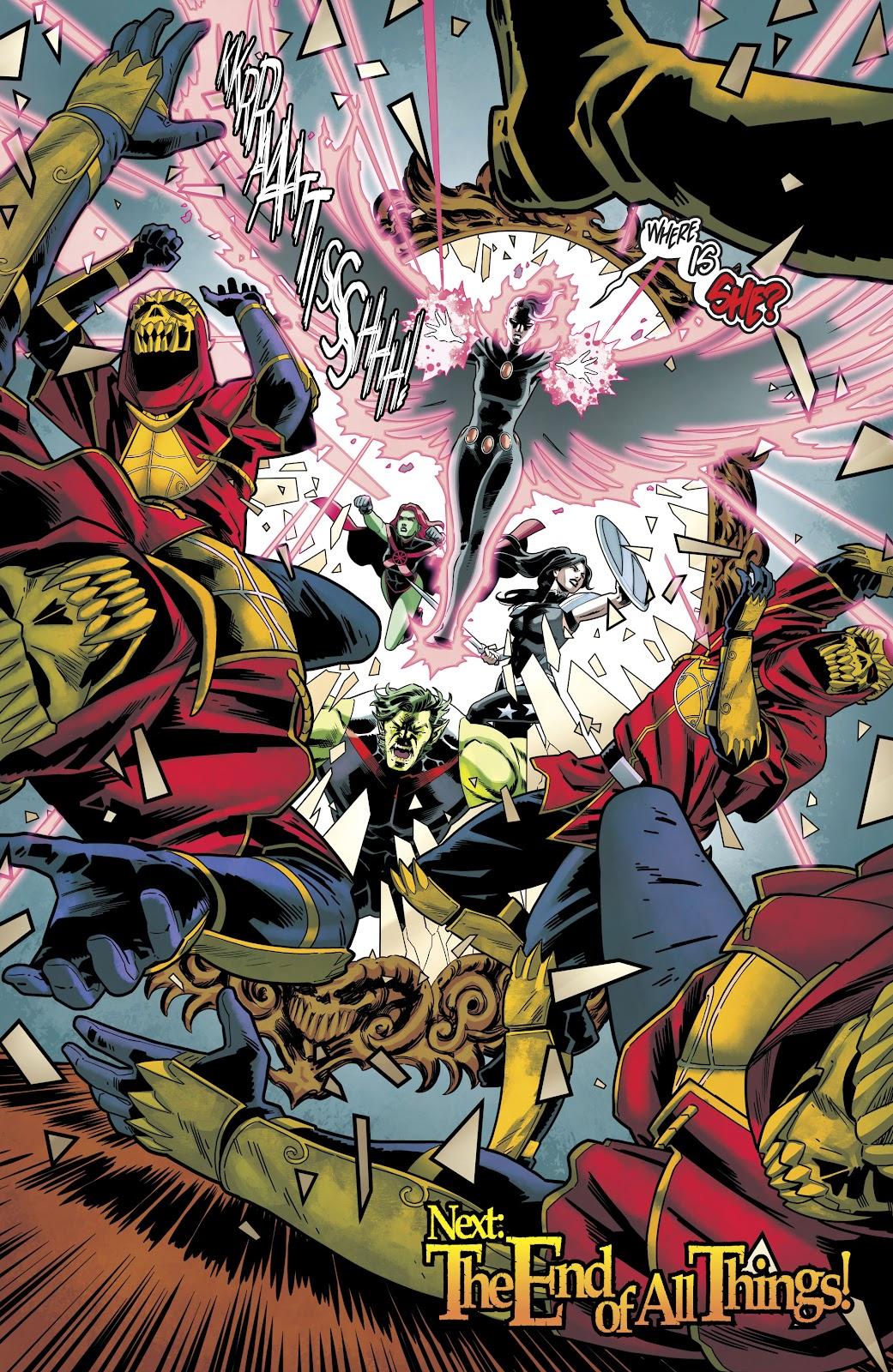 Read online Titans (2016) comic -  Issue #35 - 22