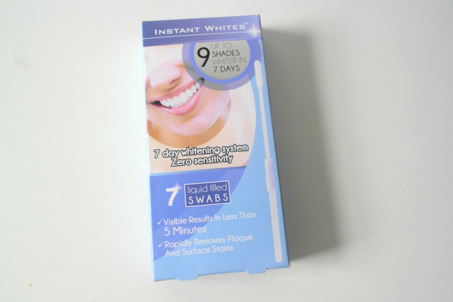REVIEW - INSTANT WHITES, 7 DAY WHITENING SYSTEM