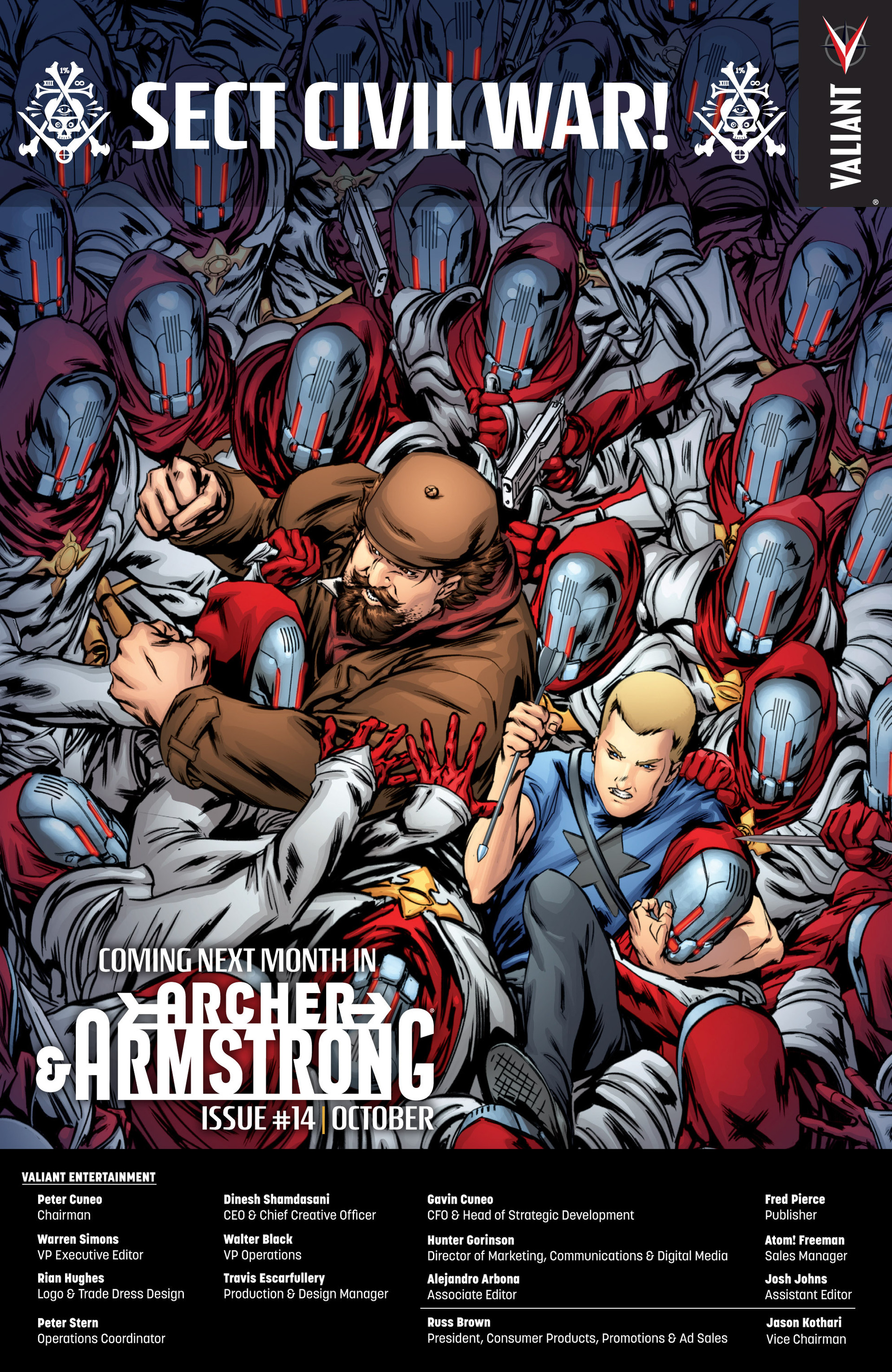 Read online Archer and Armstrong comic -  Issue #13 - 23