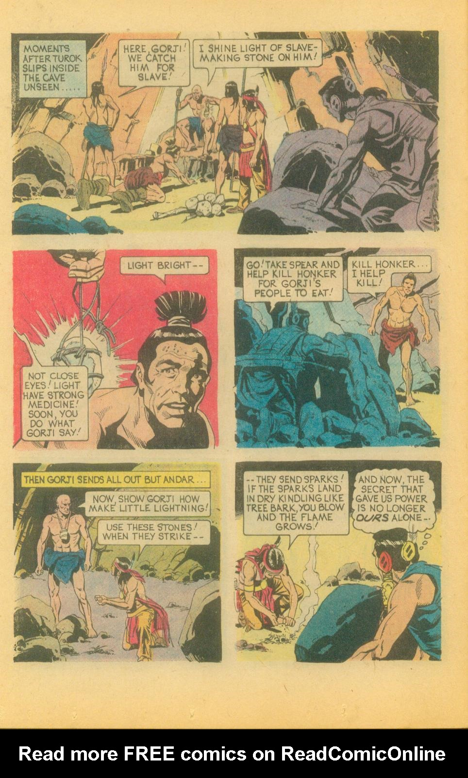Read online Turok, Son of Stone comic -  Issue #89 - 12