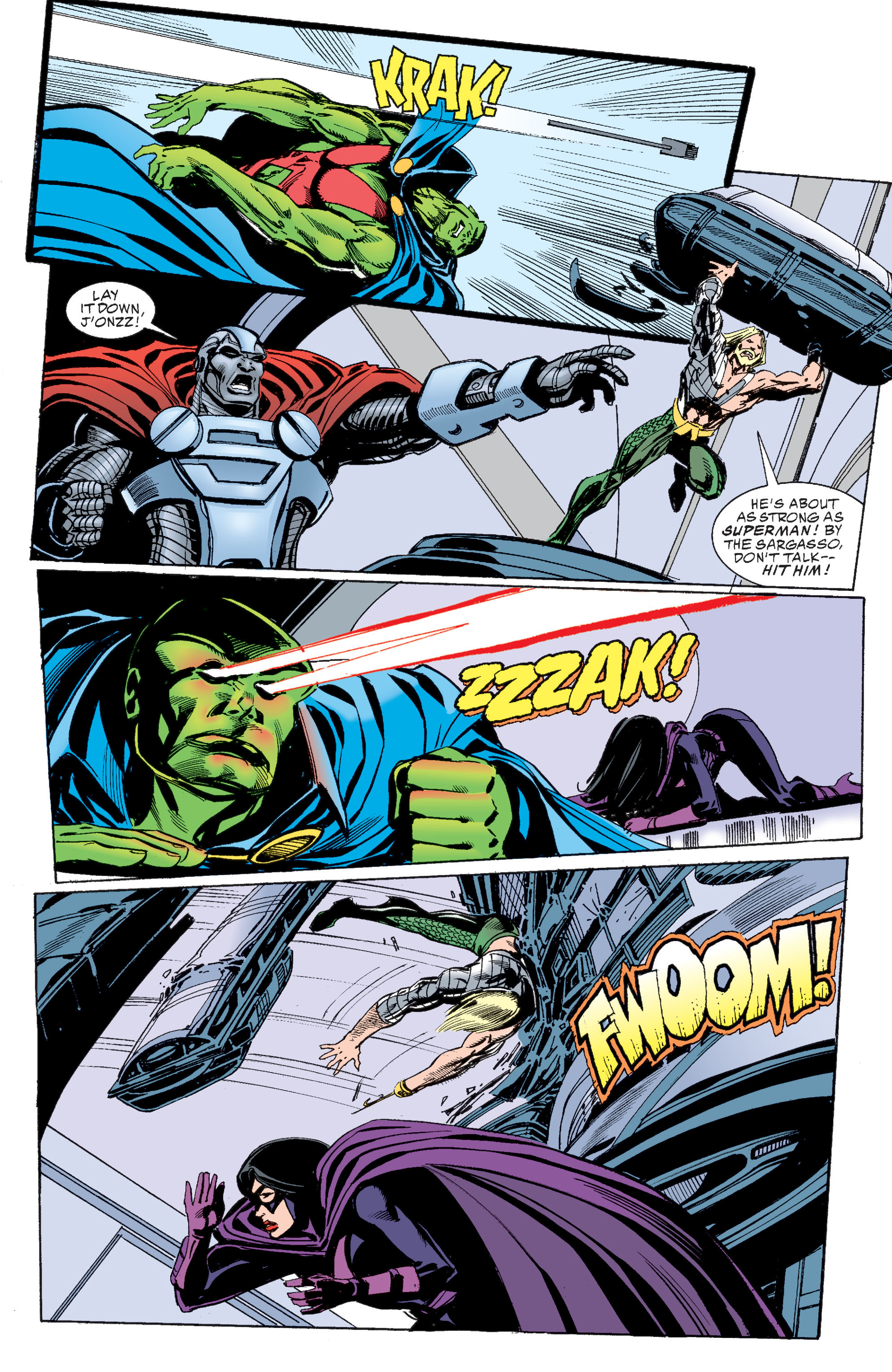Read online Martian Manhunter: Son of Mars comic -  Issue # TPB - 161