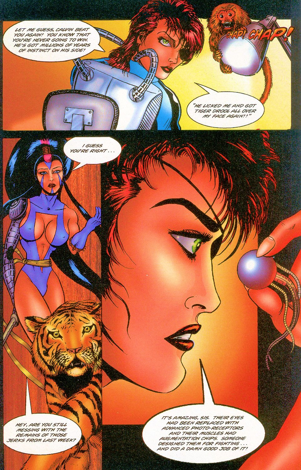 Read online Sisters of Mercy comic -  Issue #2 - 9