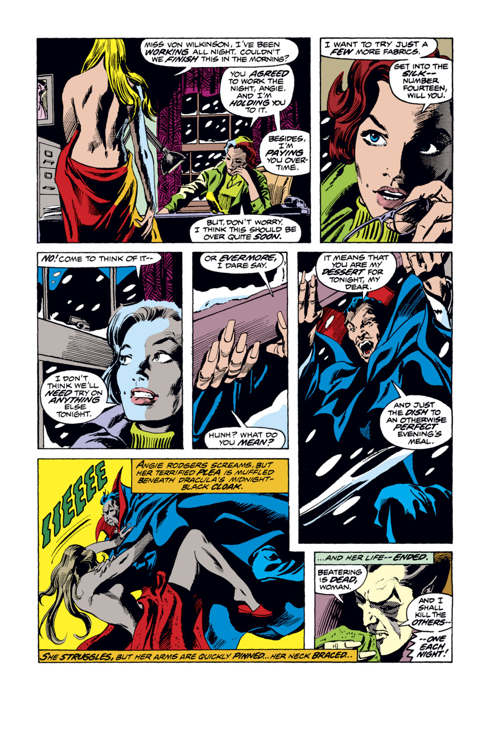 Tomb of Dracula (1972) issue 35 - Page 12
