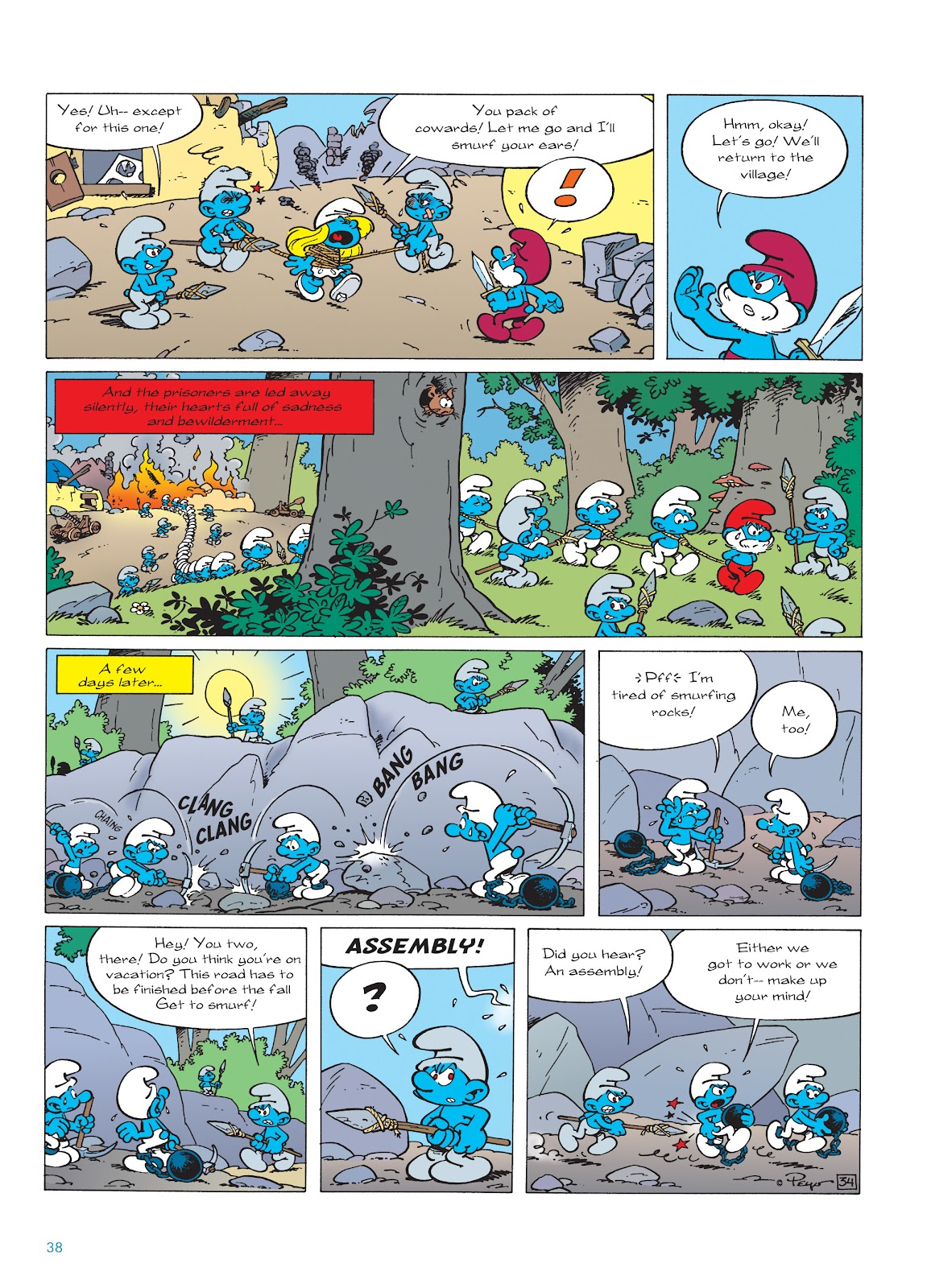 Read online The Smurfs comic -  Issue #22 - 39