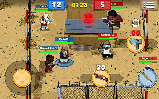 Game Bắn Súng 2D Prison Brawl Full