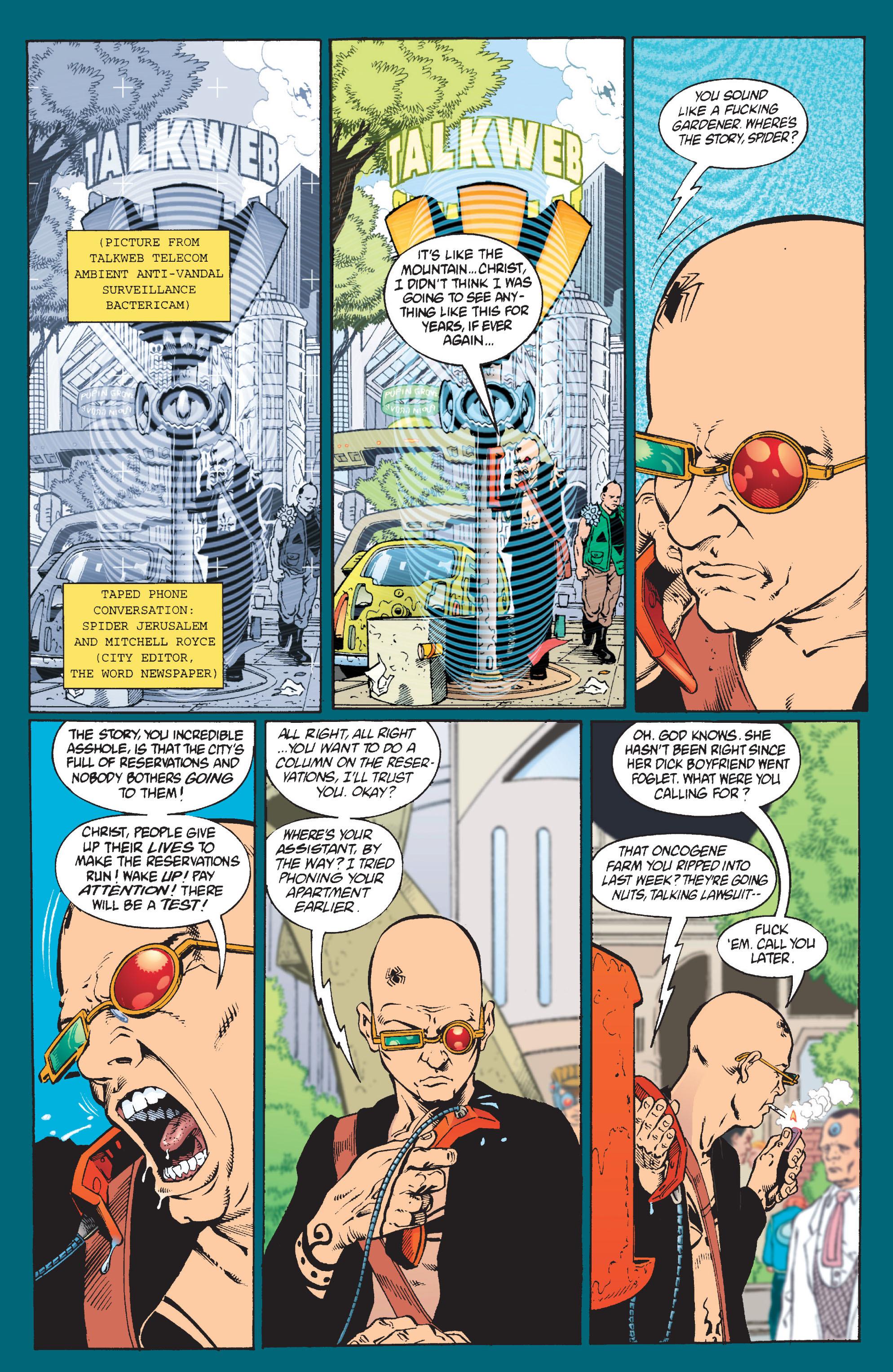 Read online Transmetropolitan comic -  Issue #9 - 13