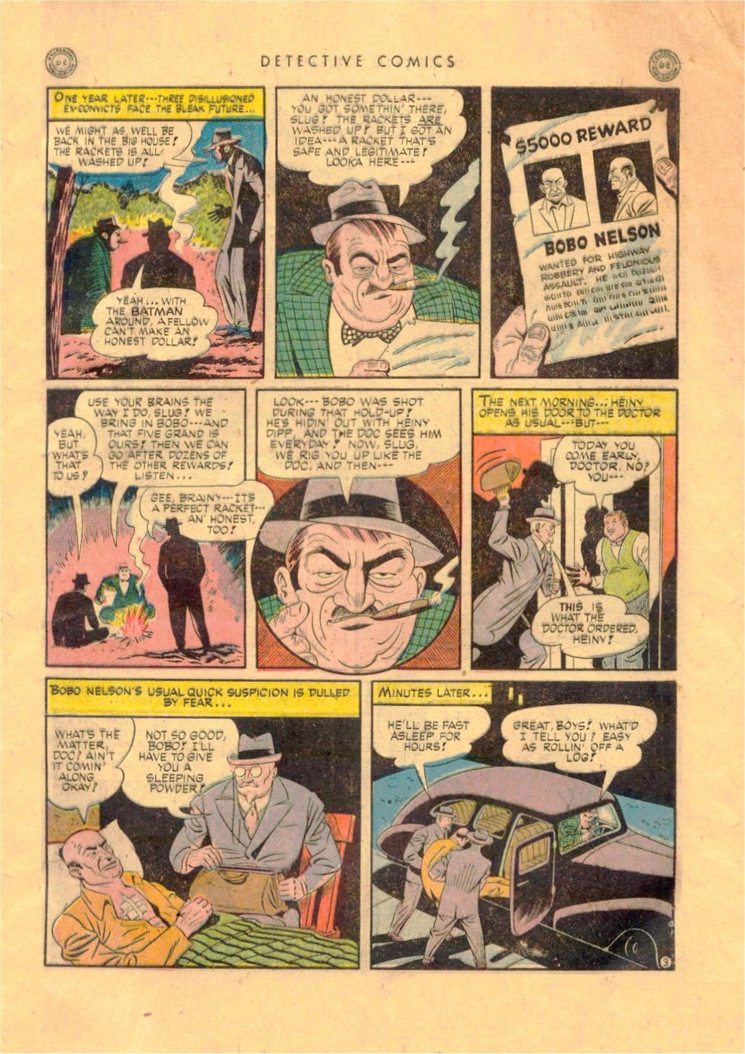 Read online Detective Comics (1937) comic -  Issue #92 - 5