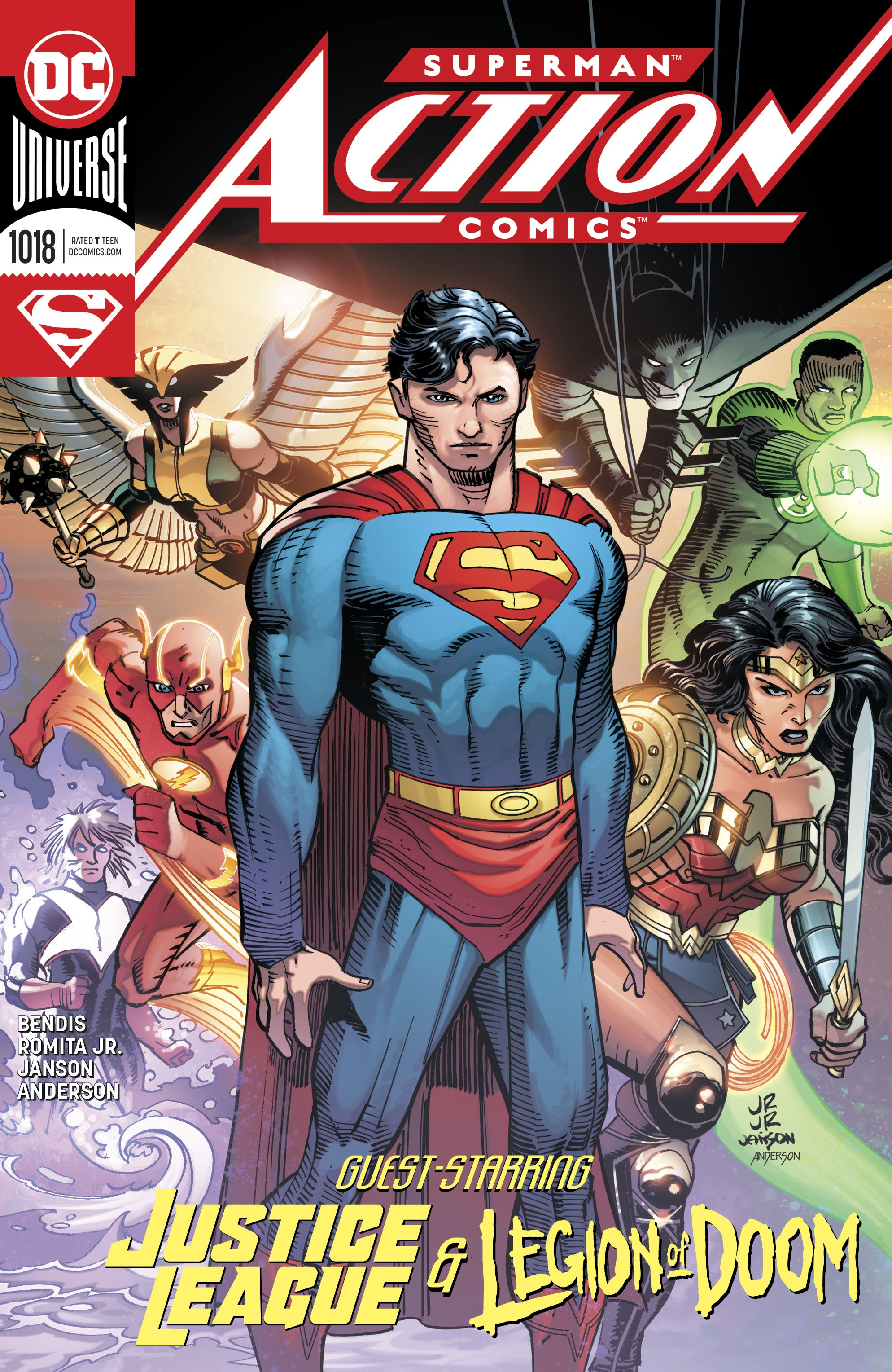 Action Comics (2016) 1018 Page 1