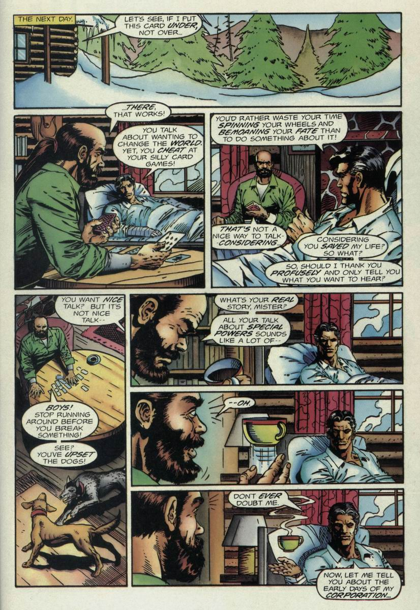 Read online Harbinger Files comic -  Issue #1 - 14