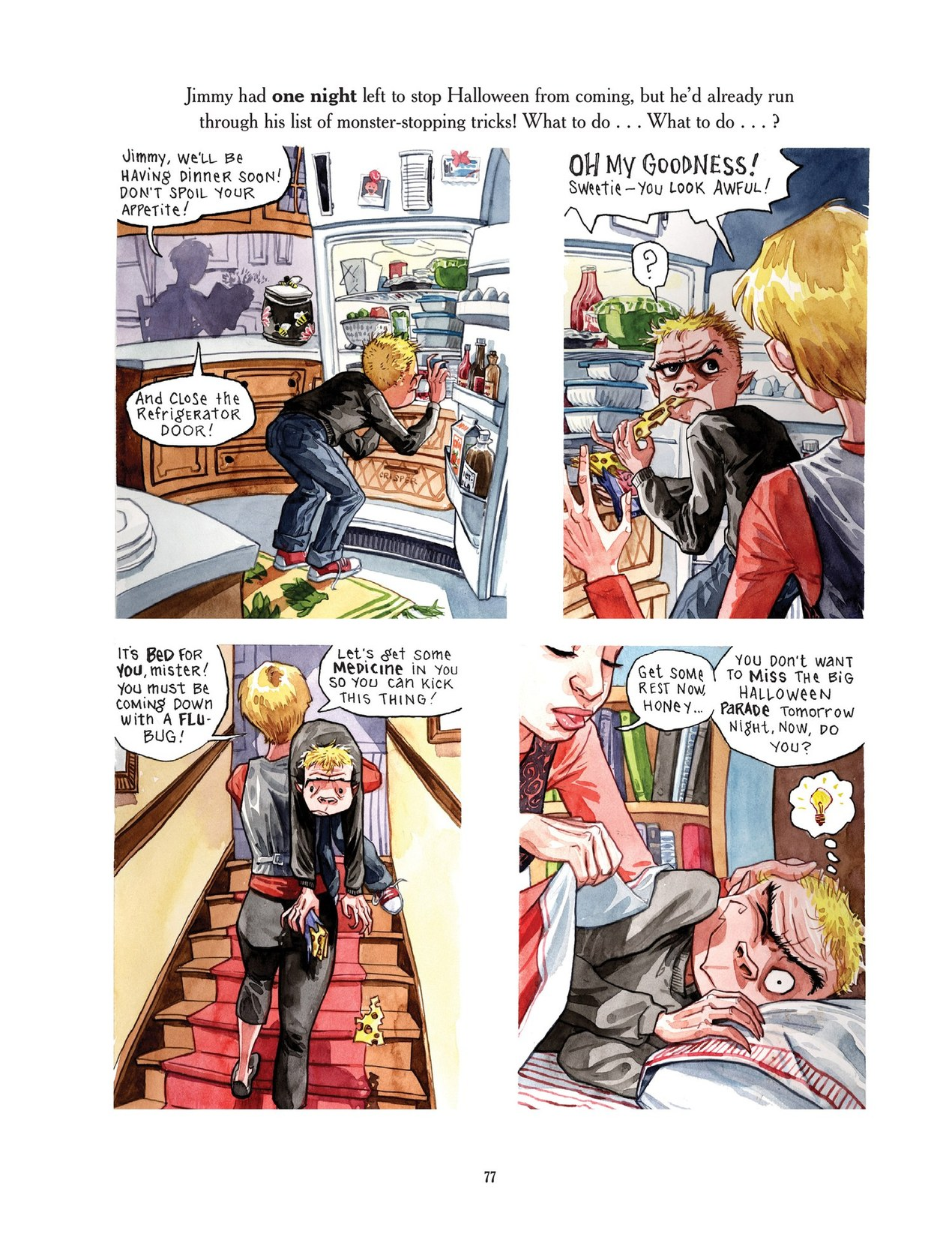 Read online Scary Godmother comic -  Issue # TPB - 77