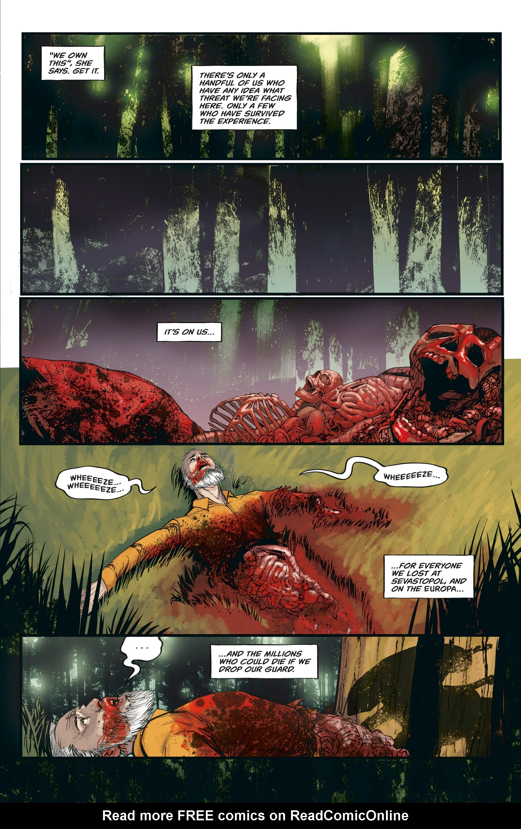 Aliens: Resistance issue 3 - Page 11