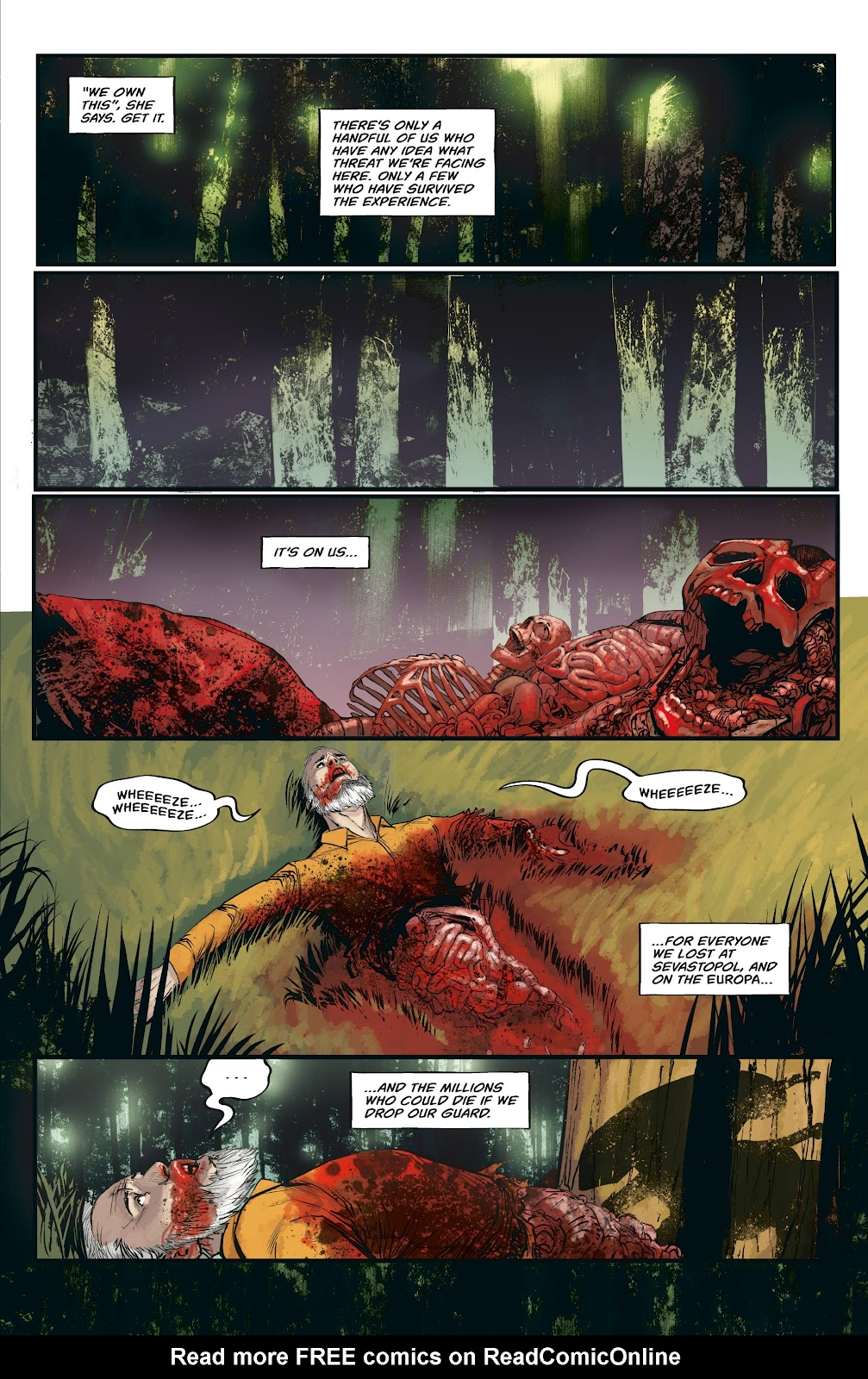 Read online Aliens: Resistance comic -  Issue #3 - 11