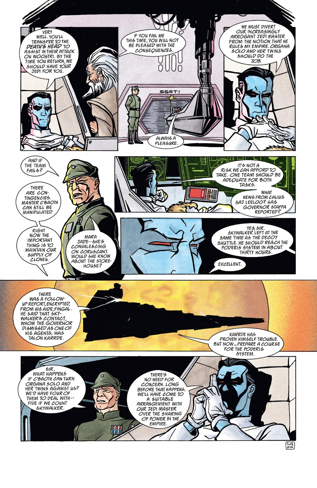 Read online Star Wars Legends: The New Republic - Epic Collection comic -  Issue # TPB 4 (Part 4) - 12