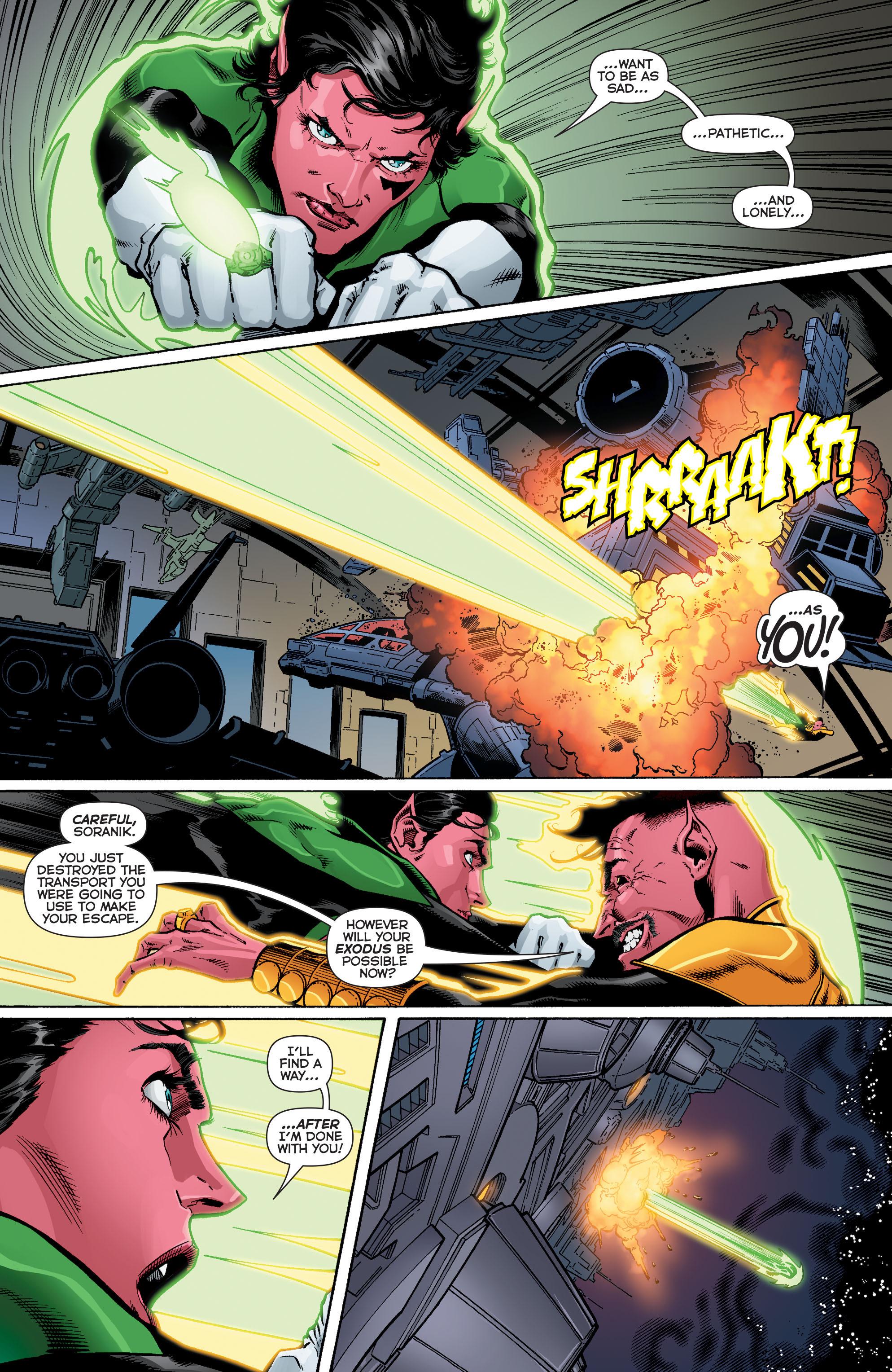 Read online Sinestro comic -  Issue #12 - 19