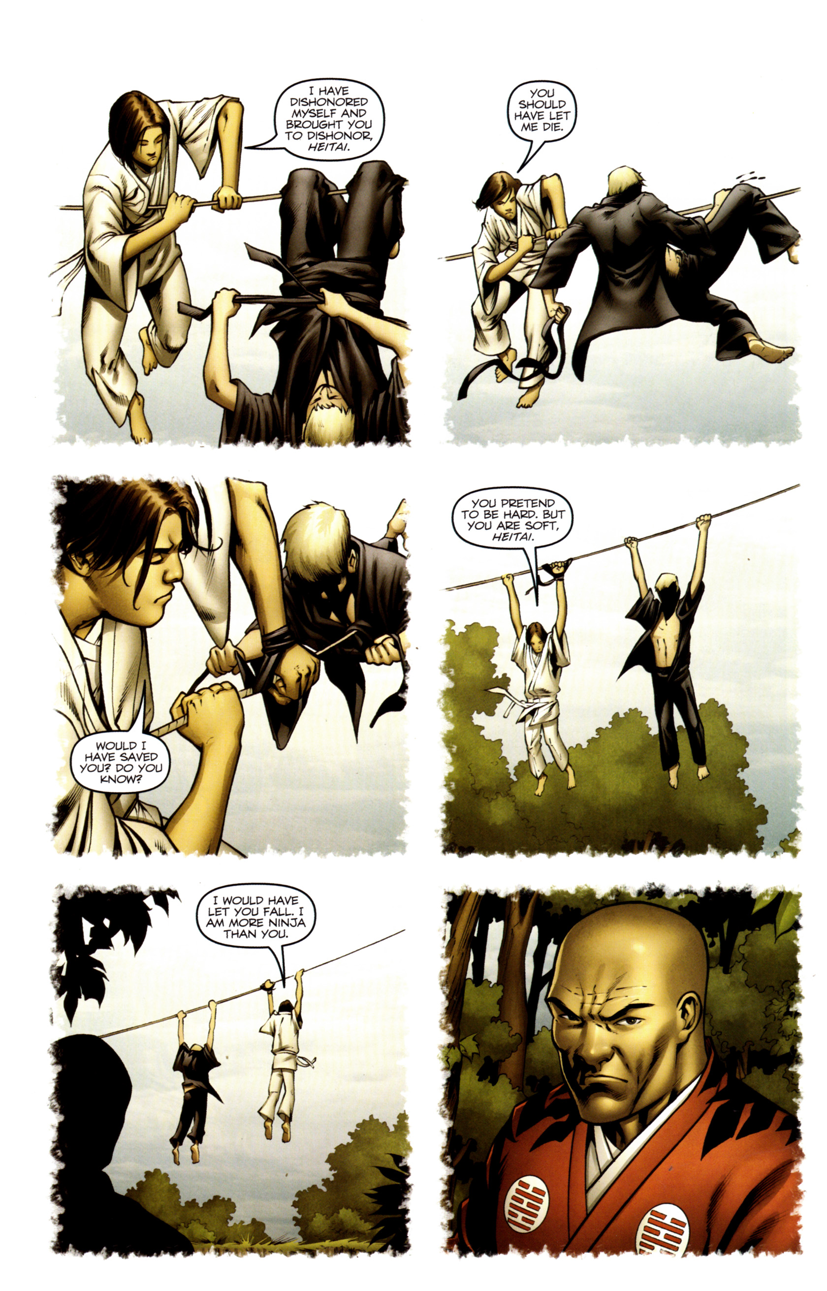 Read online Snake Eyes and Storm Shadow comic -  Issue #13 - 13