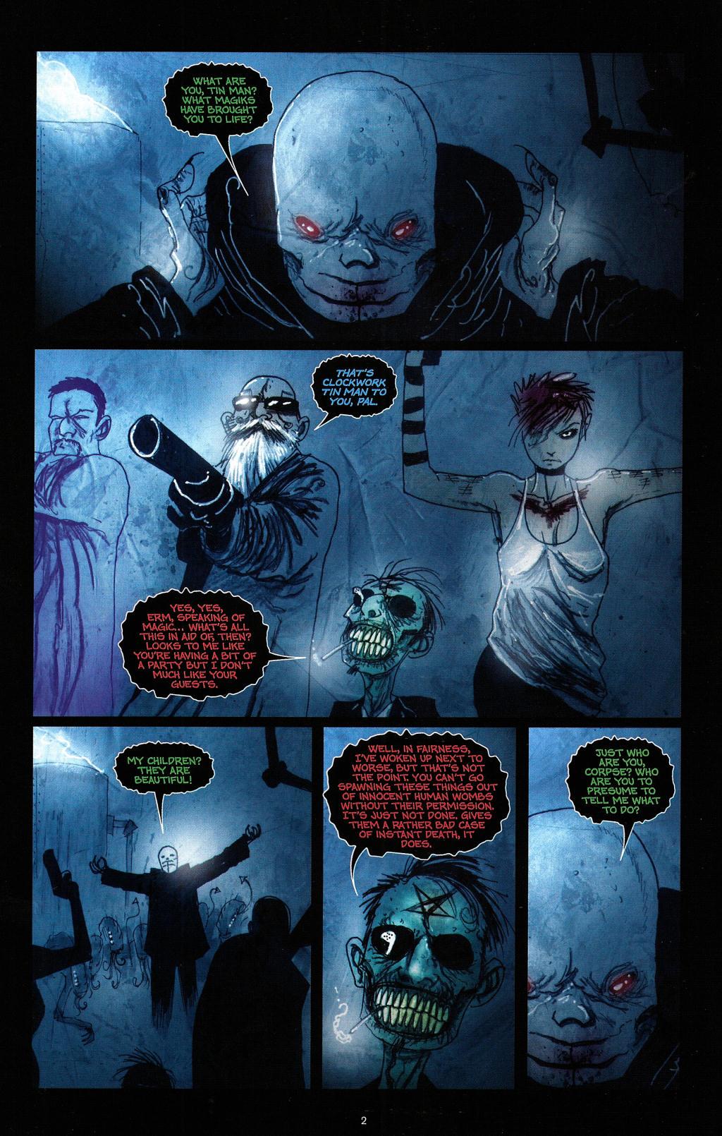 Read online Wormwood: Gentleman Corpse comic -  Issue #4 - 5
