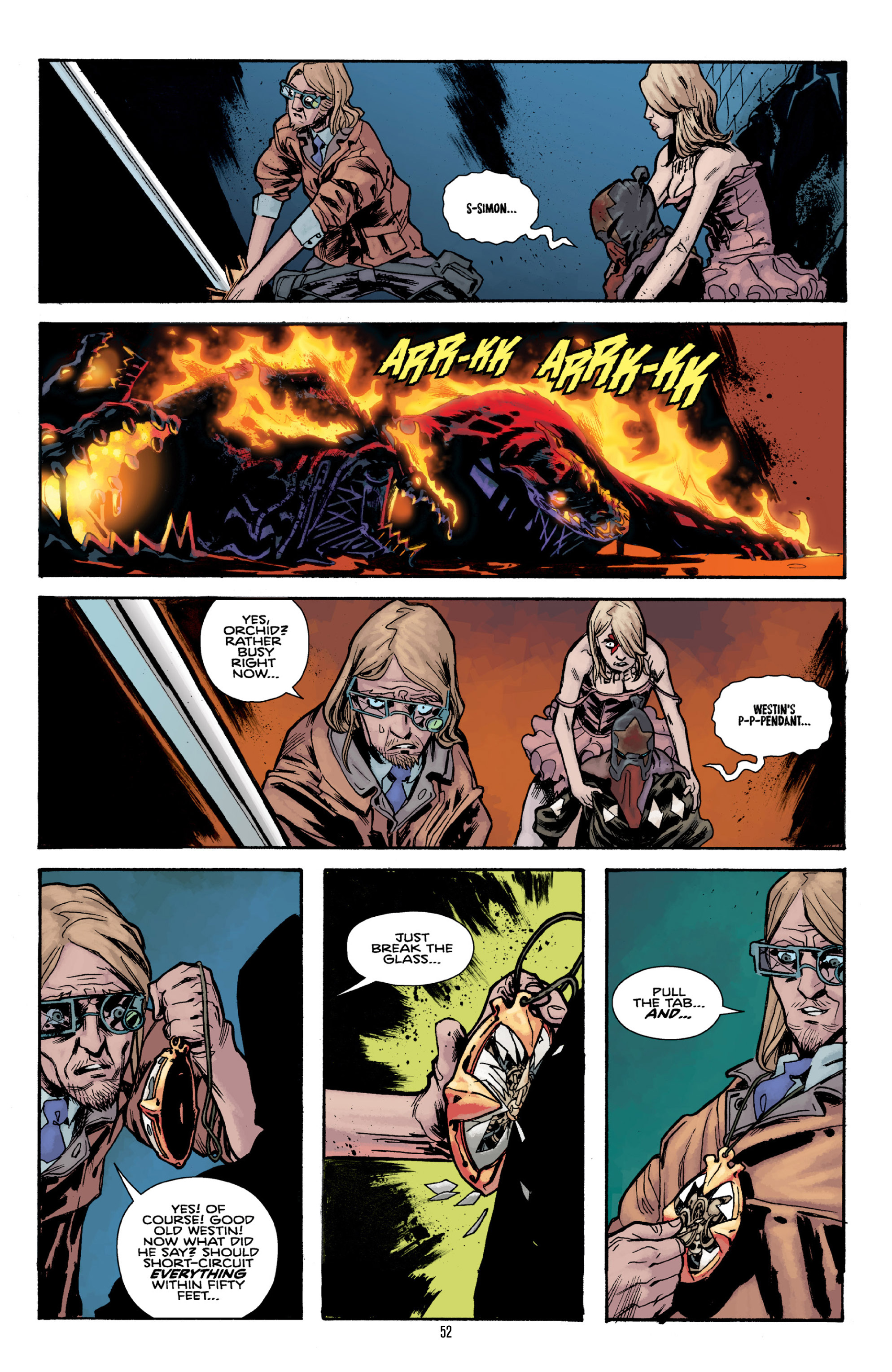Read online Orchid comic -  Issue # TPB 3 - 51