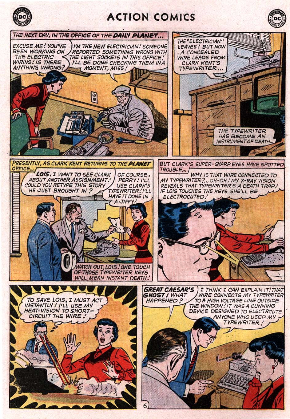 Read online Action Comics (1938) comic -  Issue #307 - 7