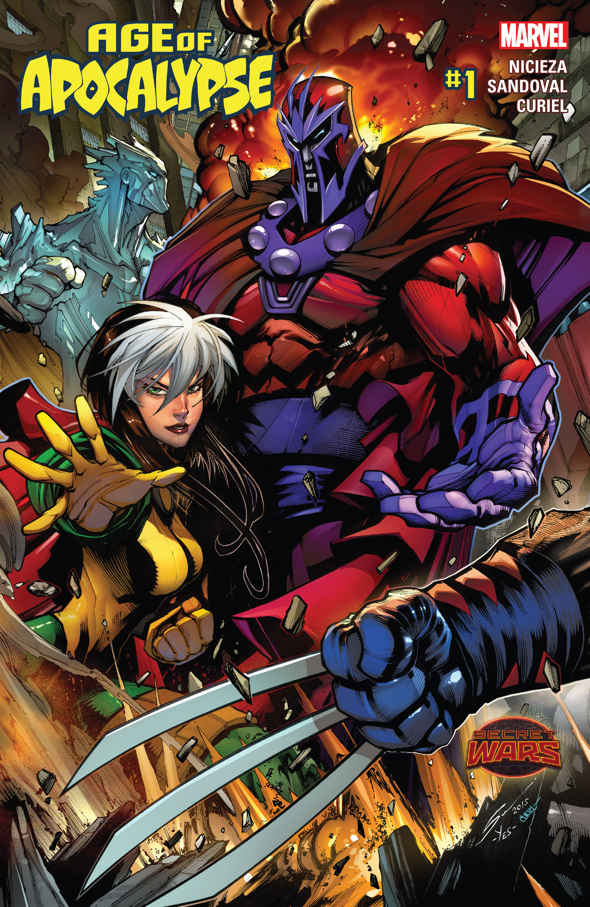 Read online Age of Apocalypse (2015) comic -  Issue #1 - 1