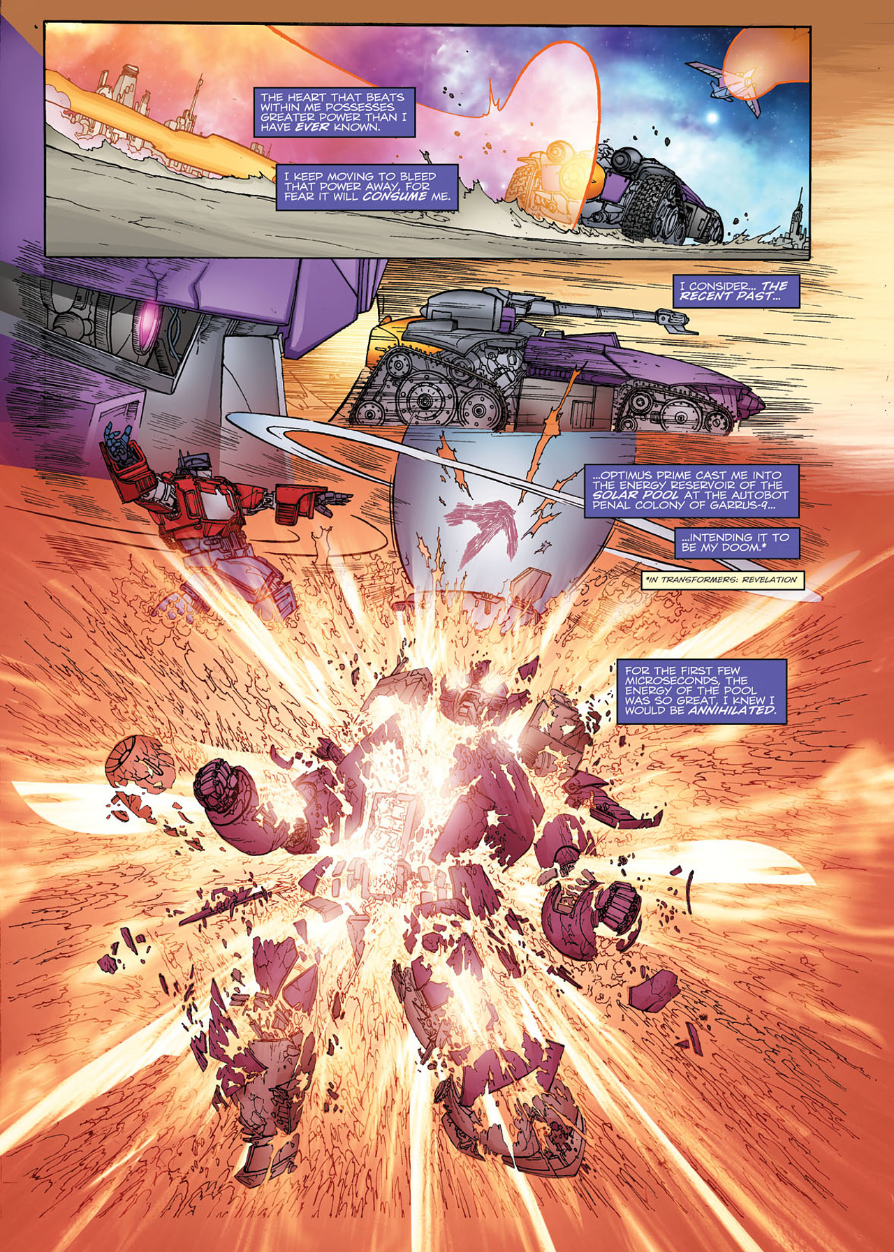 Read online Transformers: Heart of Darkness comic -  Issue #1 - 10