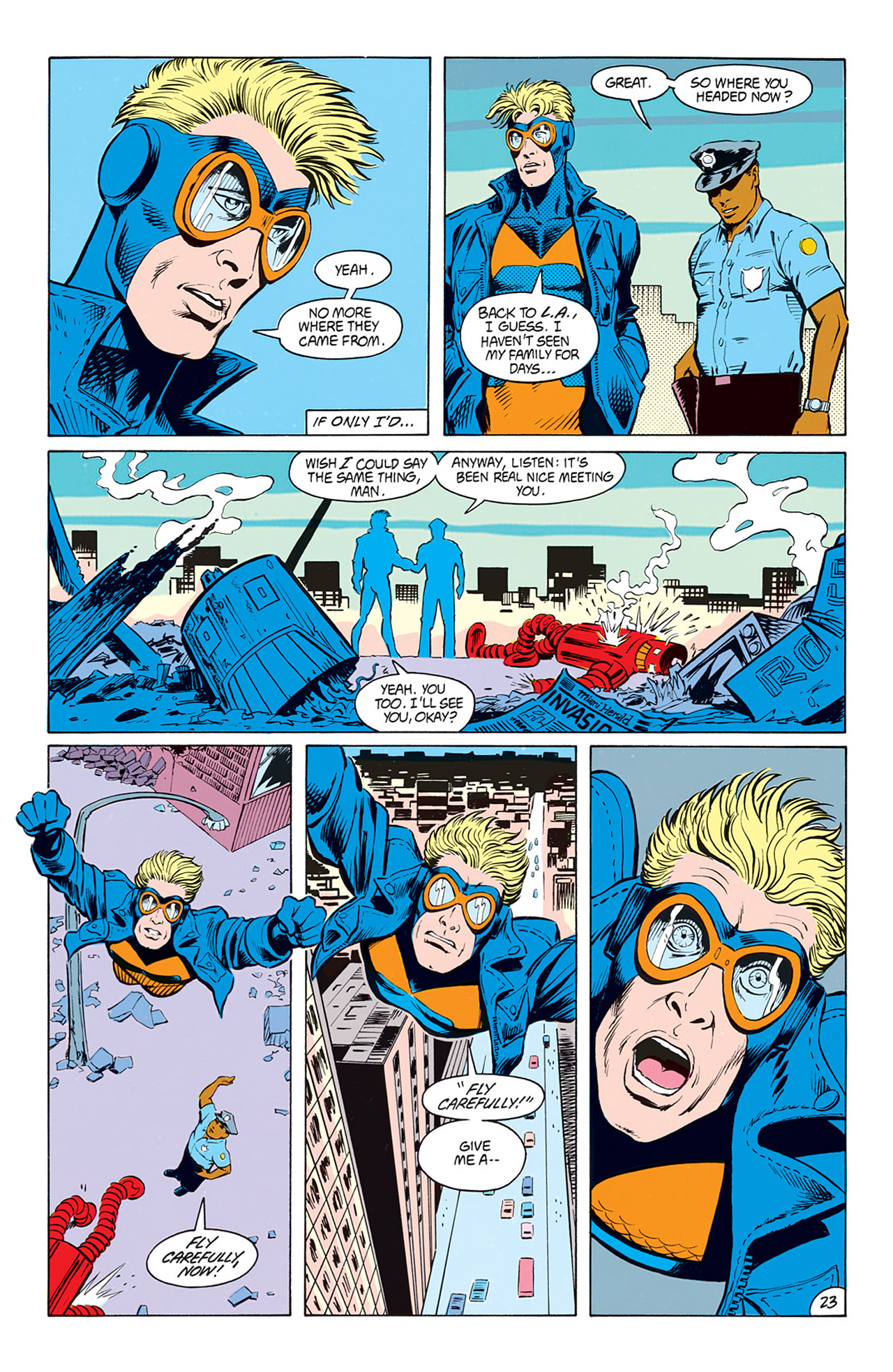 Read online Animal Man (1988) comic -  Issue #7 - 25