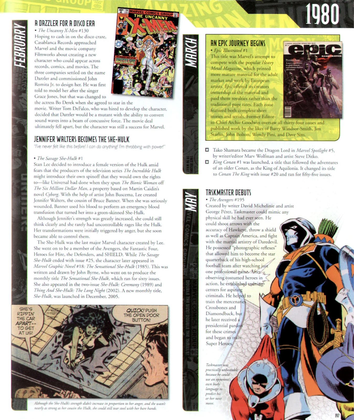 Read online Marvel Chronicle comic -  Issue # TPB (Part 2) - 84