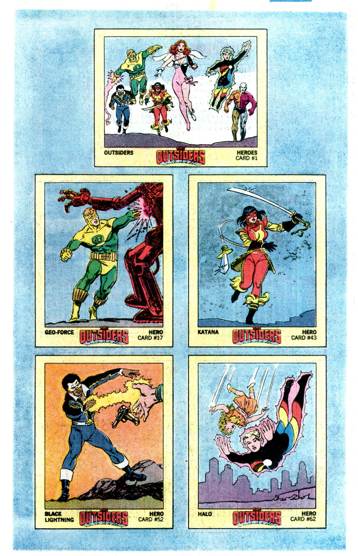 Read online Adventures of the Outsiders comic -  Issue #45 - 23