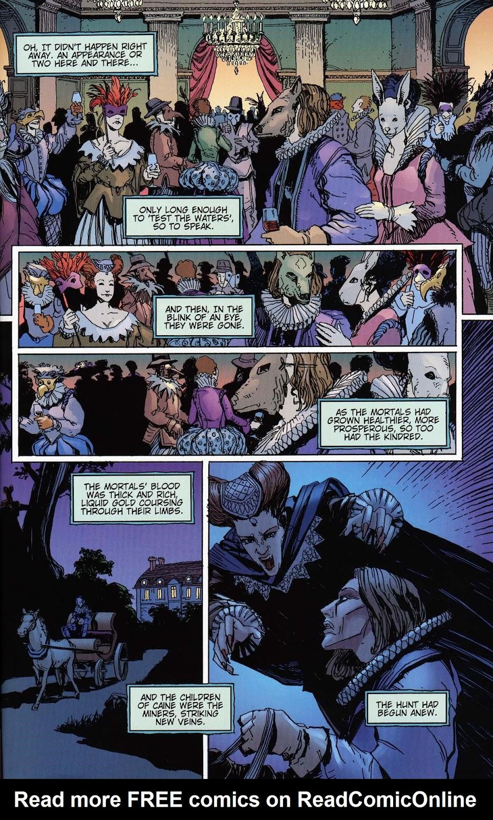 Read online Vampire the Masquerade comic -  Issue # Toreador - 41