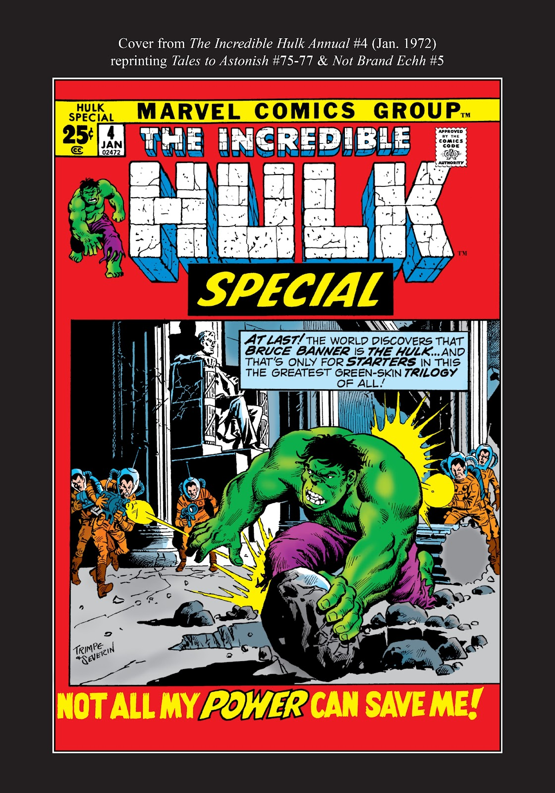 Read online Marvel Masterworks: The Incredible Hulk comic -  Issue # TPB 8 (Part 3) - 82