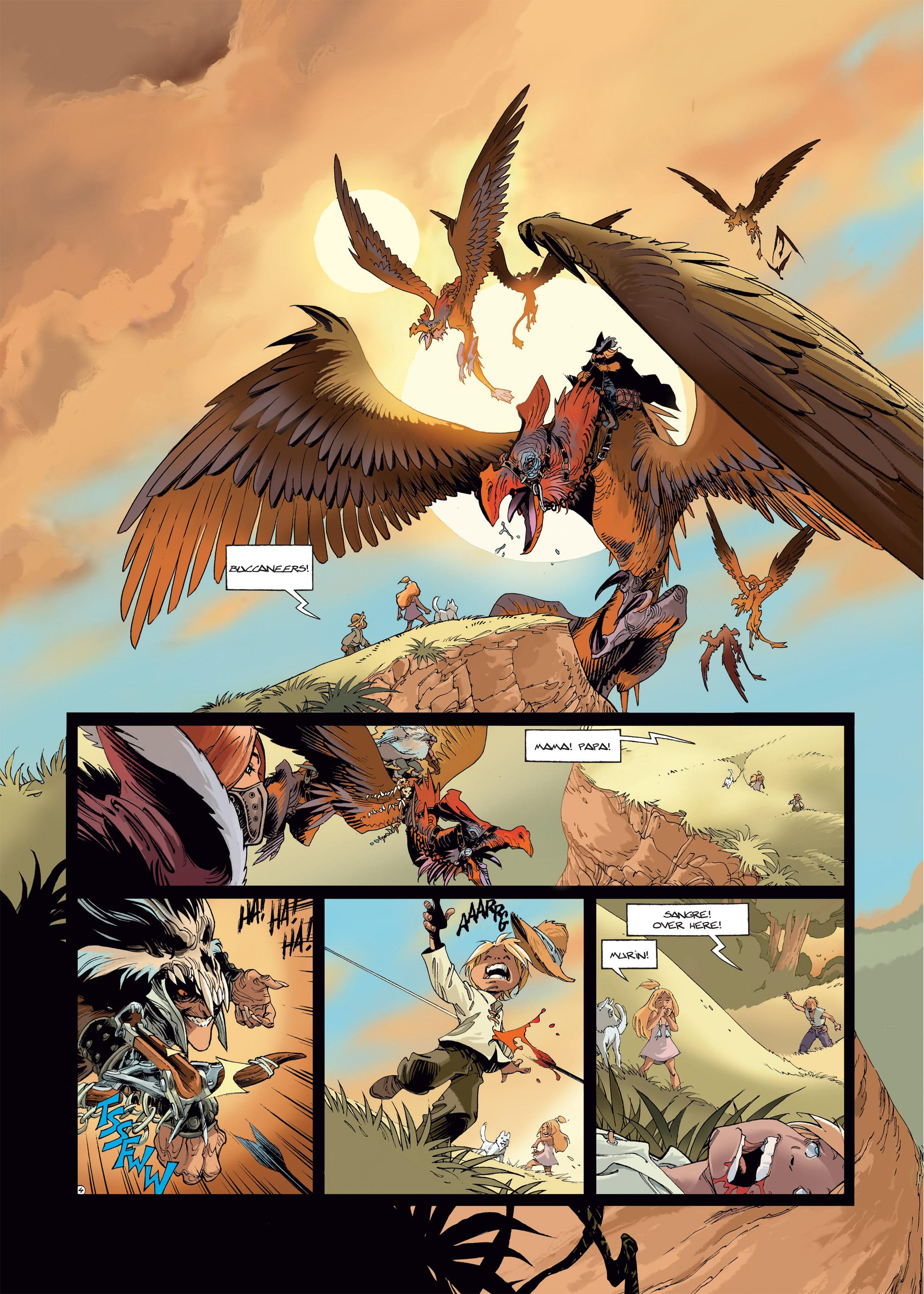 Read online Sangre Vol. 1: Sangre the Survivor comic -  Issue # Full - 6