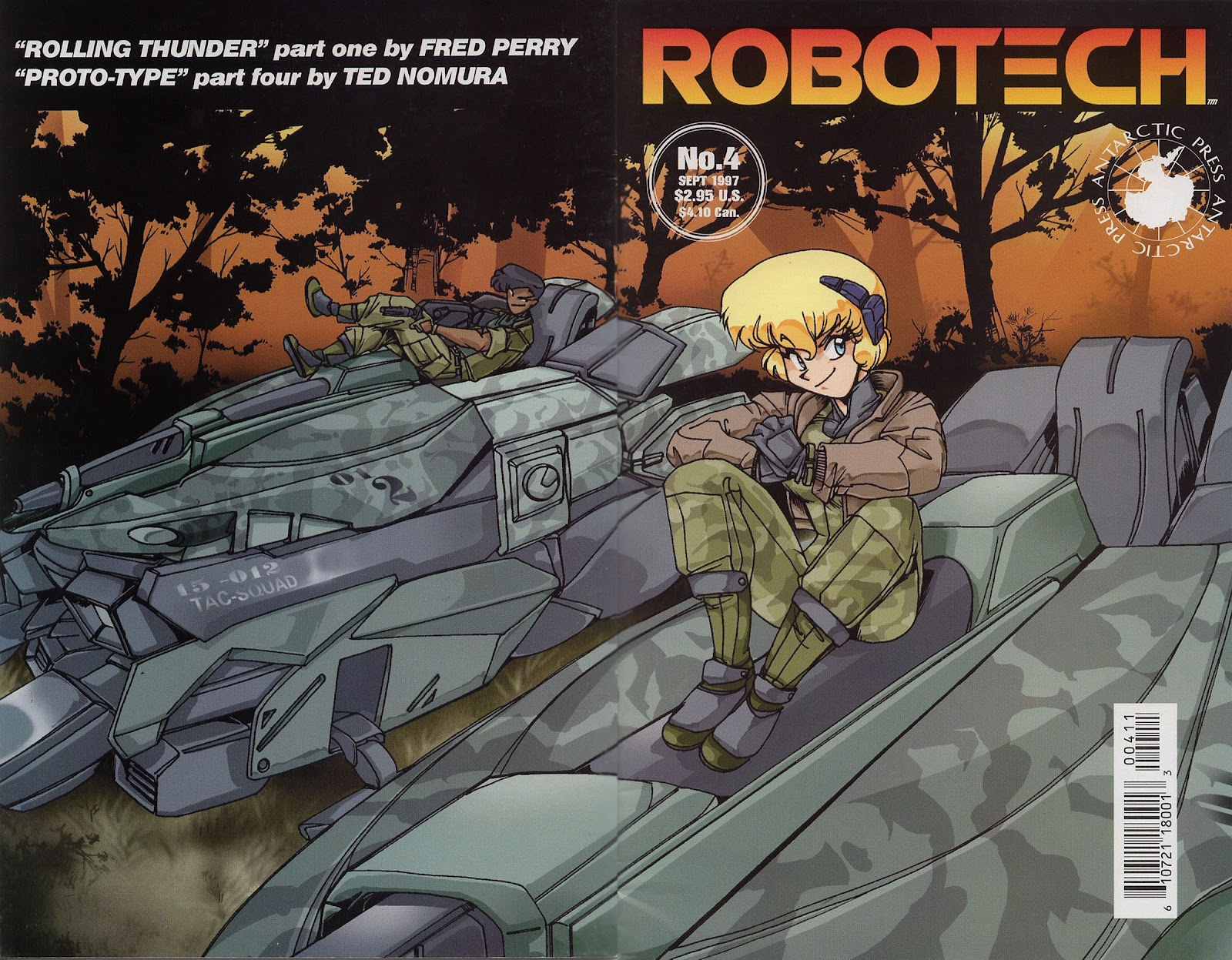 Robotech (1997) issue 4 - Page 1